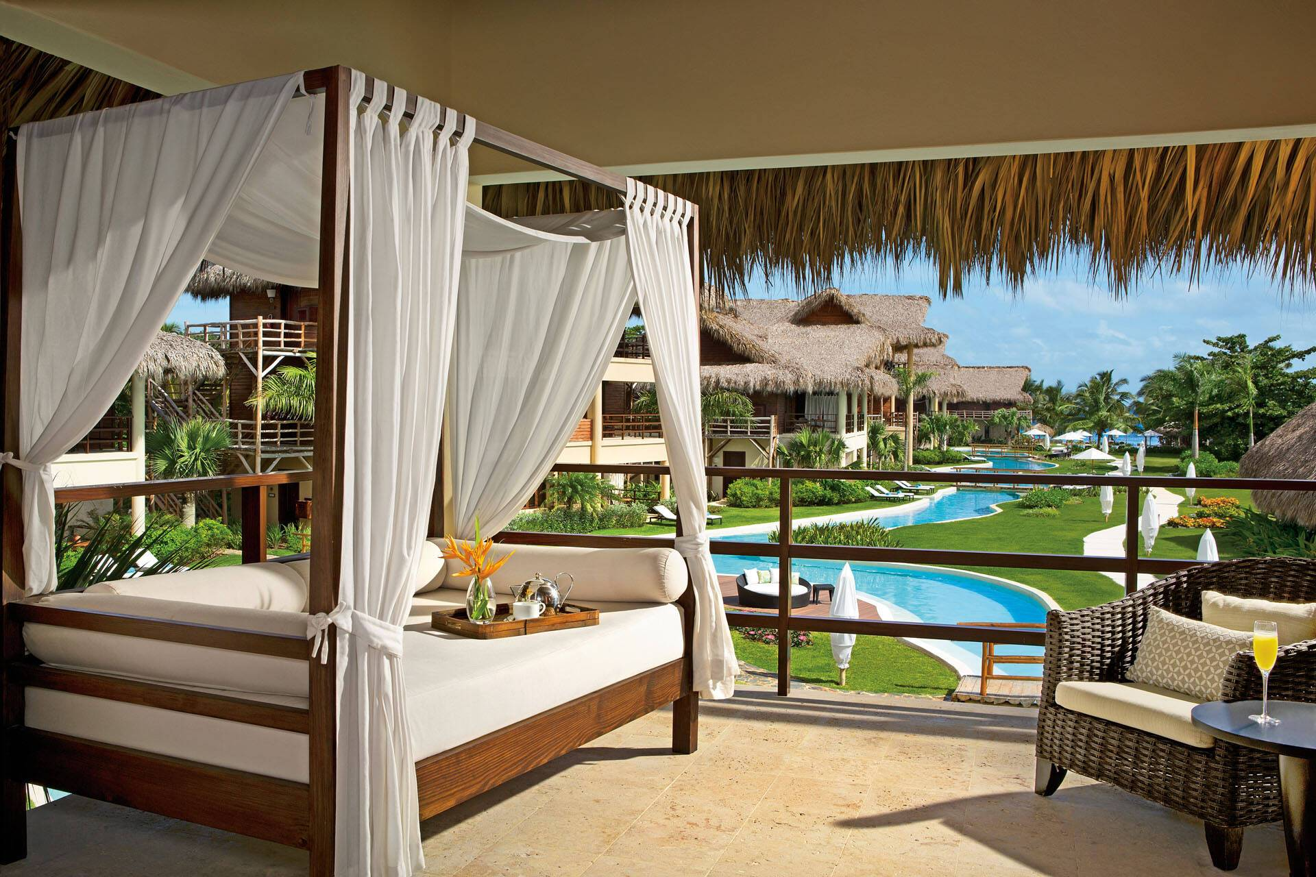 Zoetry Punta Cana Republique Dominicaine romantic junior suite AMResorts