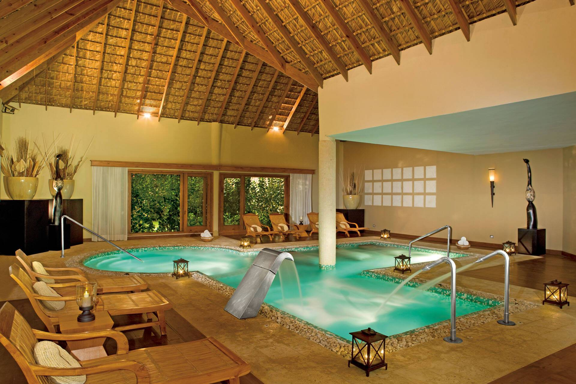 Zoetry Punta Cana Republique Dominicaine spa circuit AMResorts