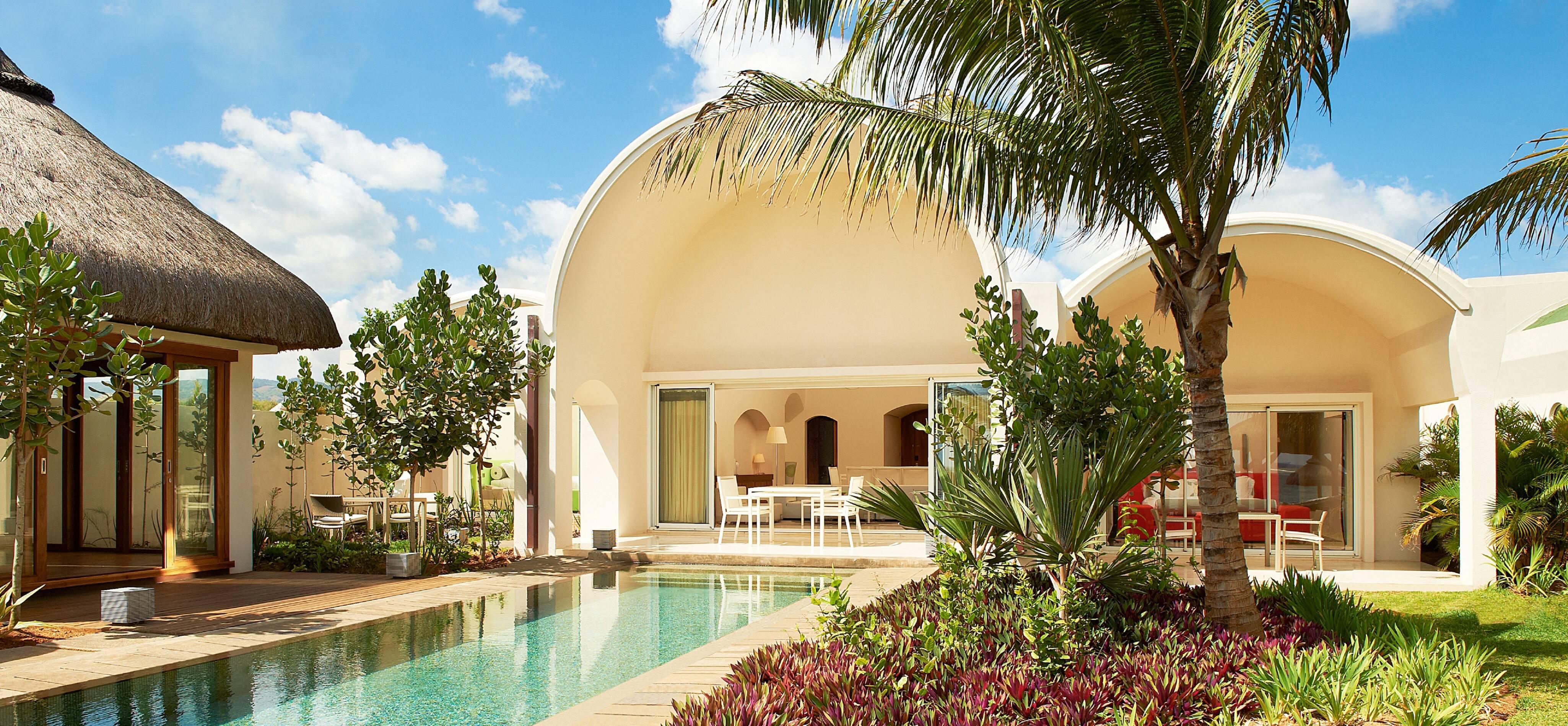 Sofitel So Mauritius beach villa vue exterieure