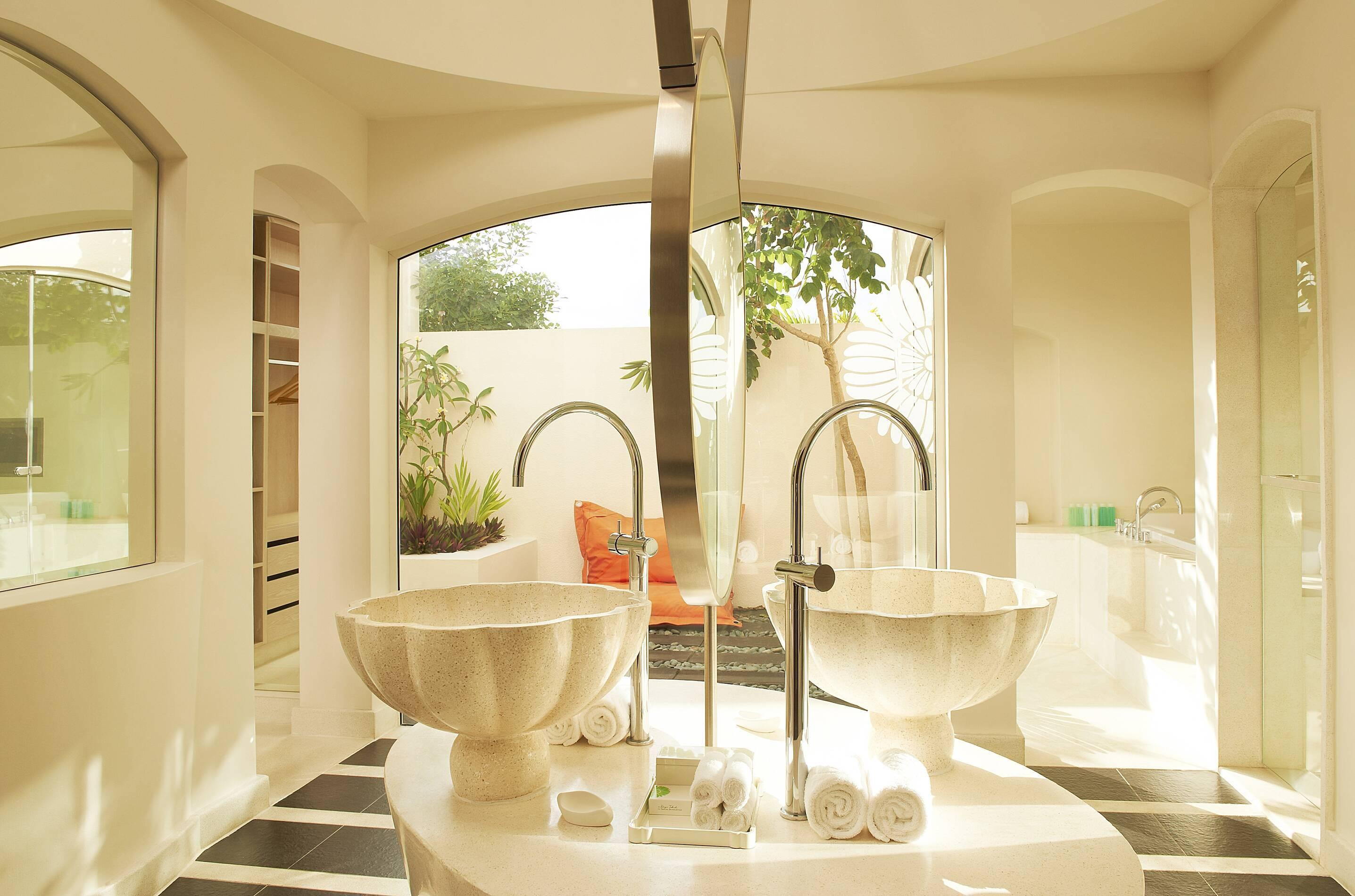Sofitel So Maurituis beach suite salle de bain