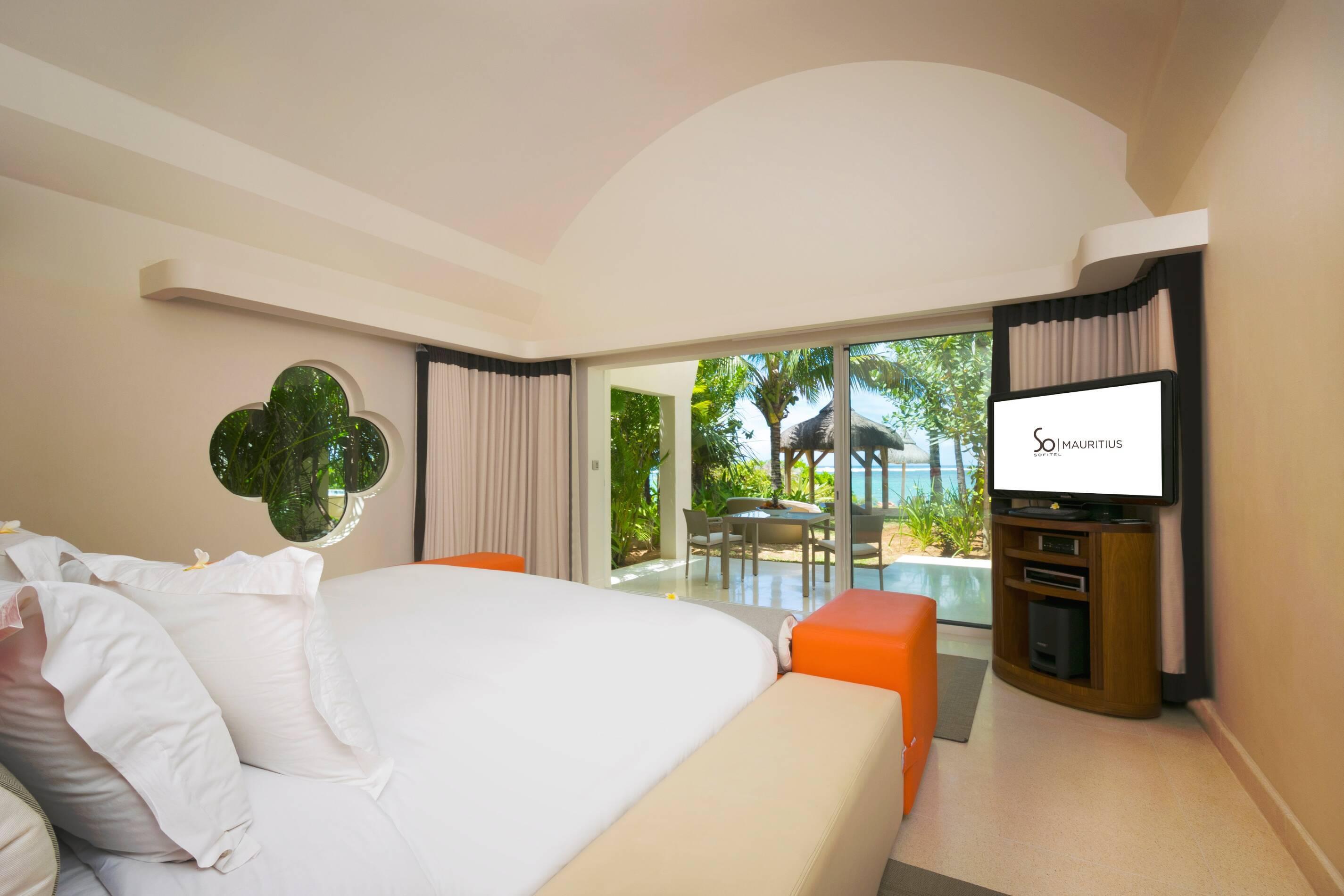 Sofitel So Maurituis beach villa chambre