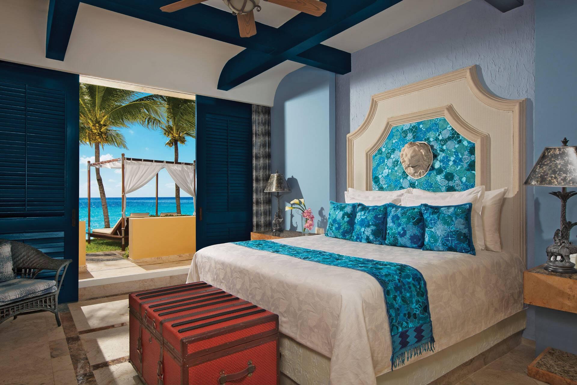 Zoetry Paraiso Riviera Maya Mexique chambre butler ocean front