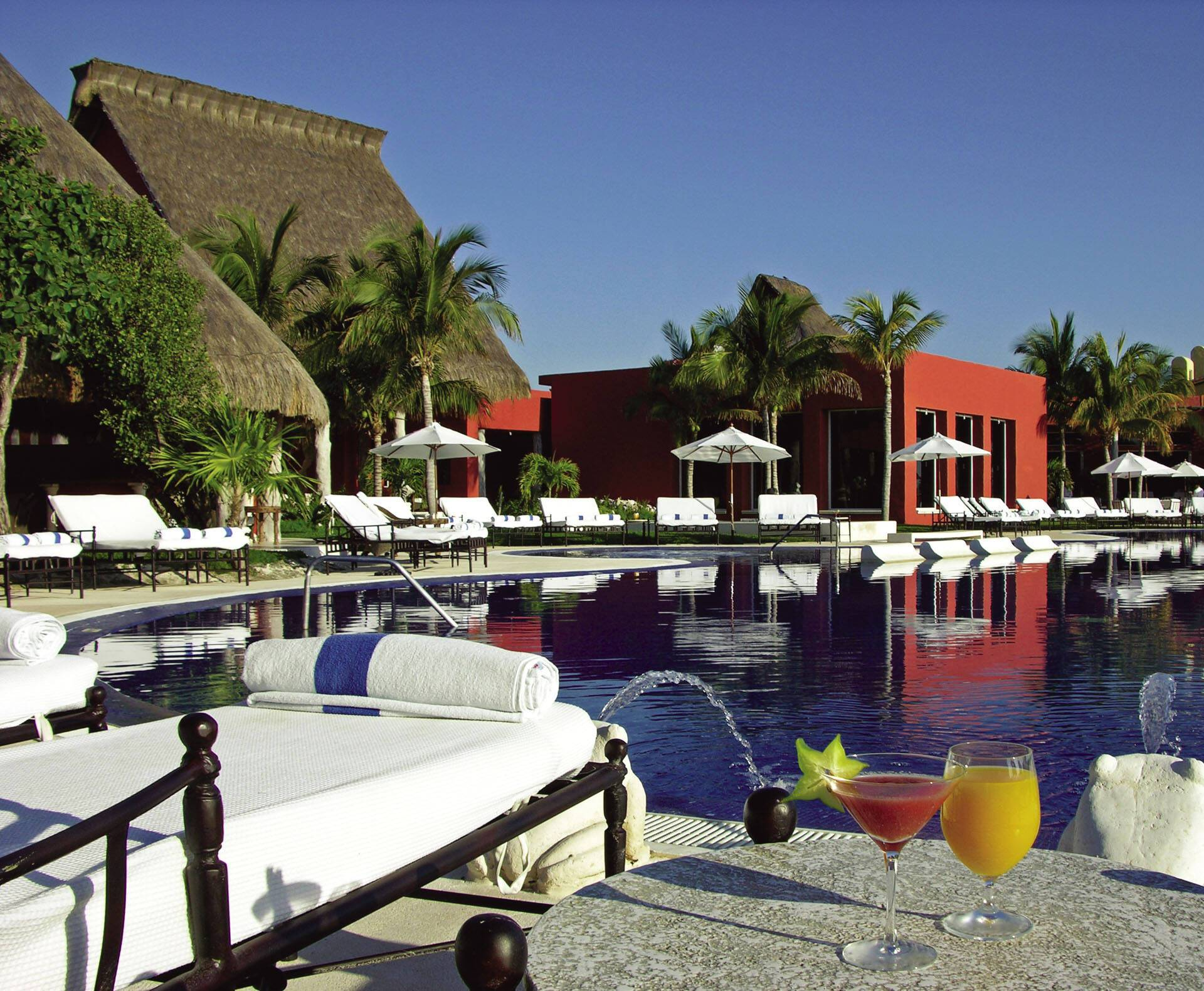 Zoetry Paraiso Riviera Maya Mexique piscine