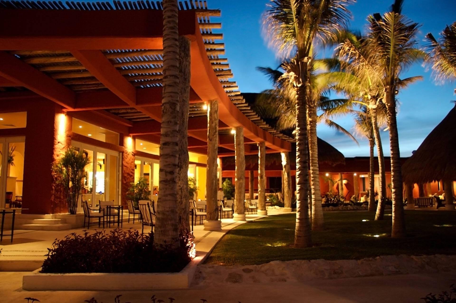 Zoetry Paraiso Riviera Maya Mexique restaurant la caona