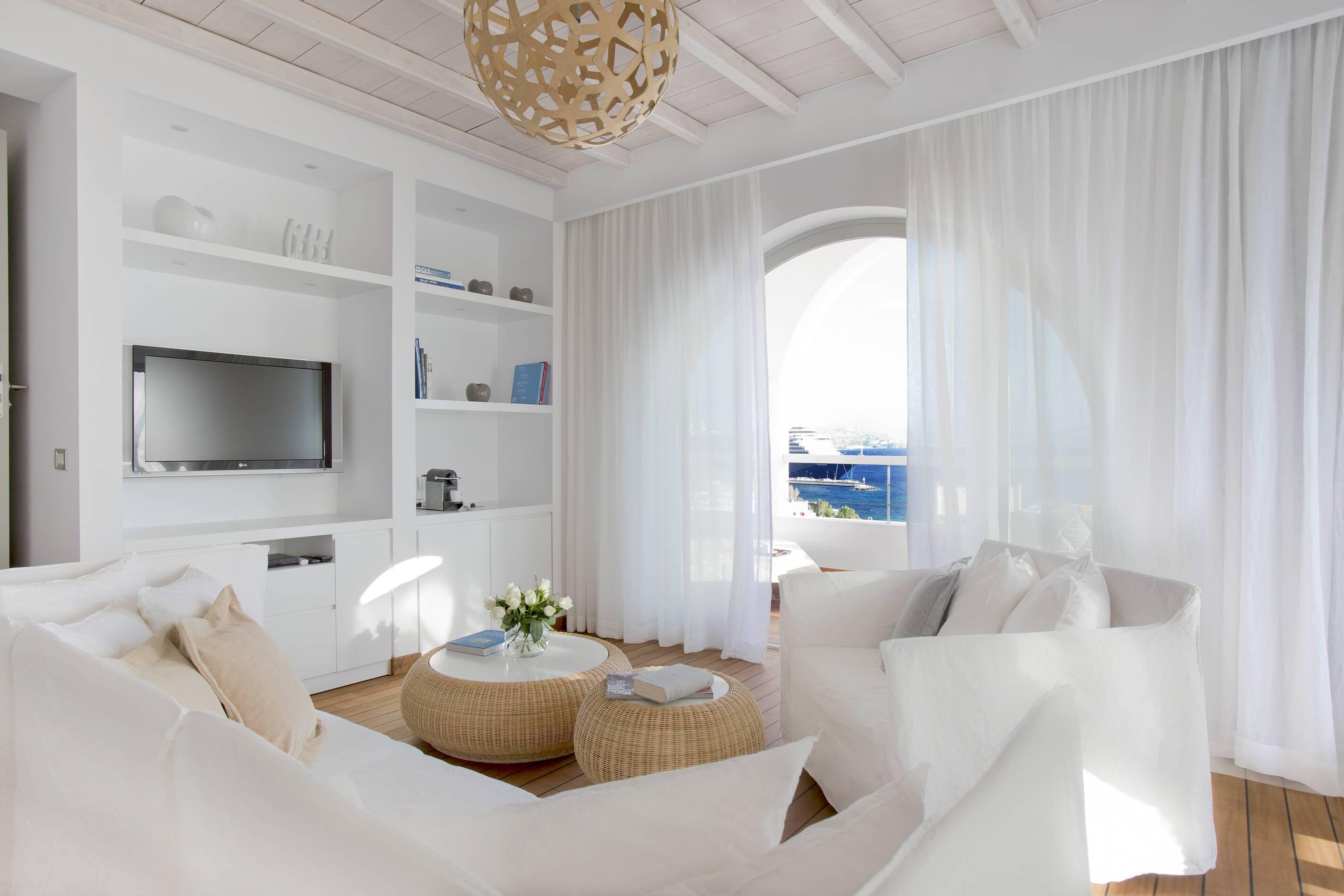 Grace Mykonos Mykonos Suite salon mykonos