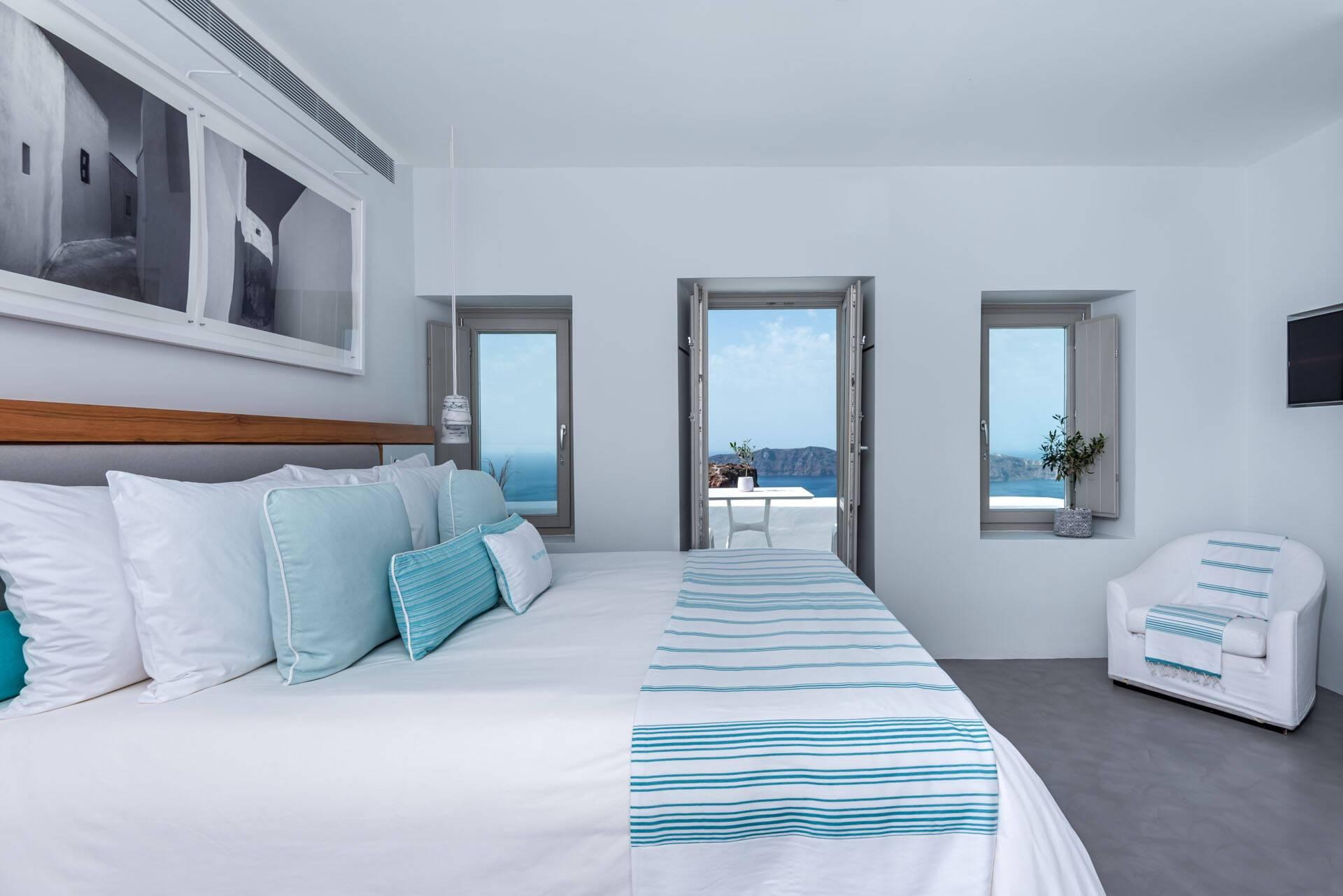 Grace Hotel Santorin Chambre Vue