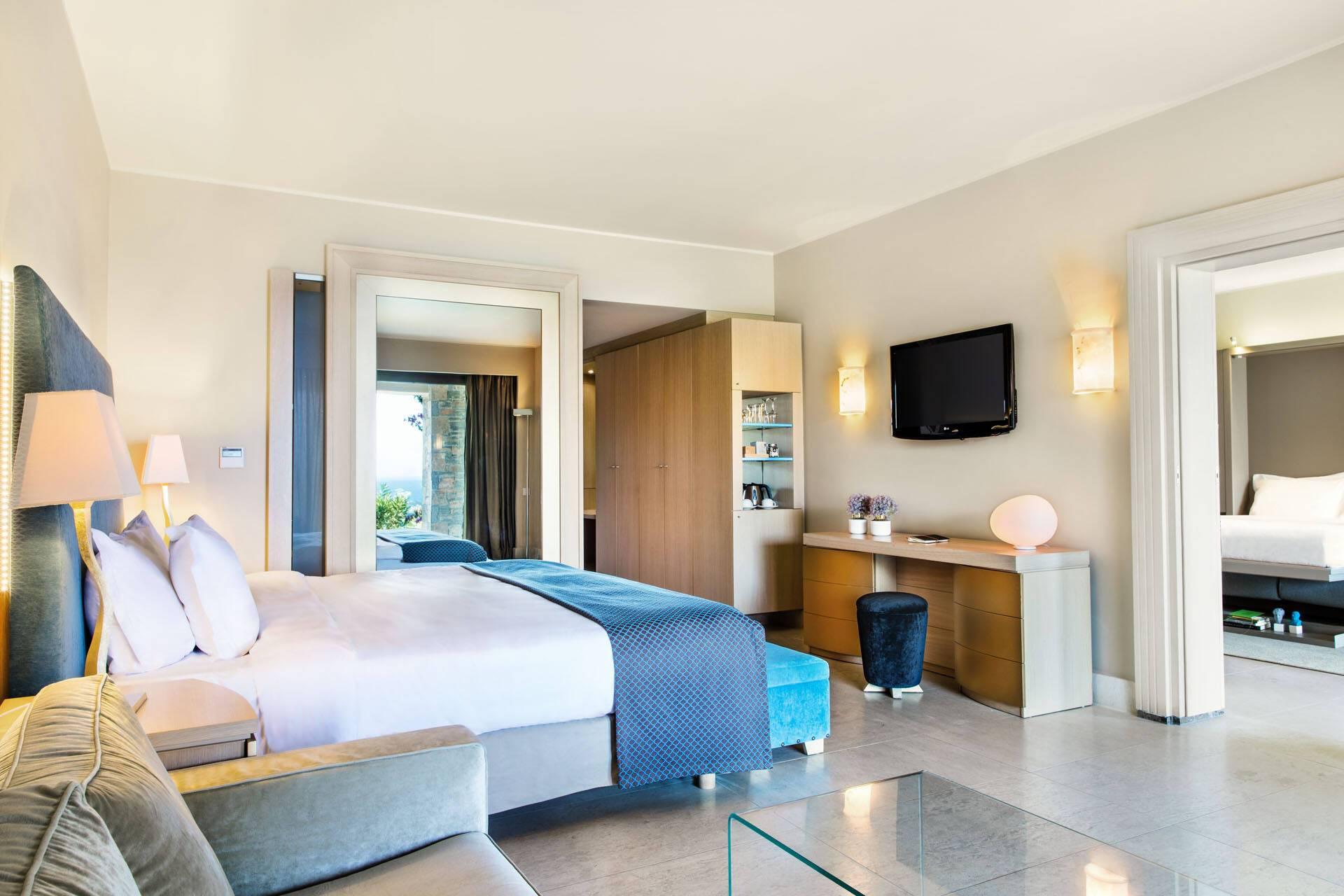 Daios Cove Premium Suite Chambre Crete