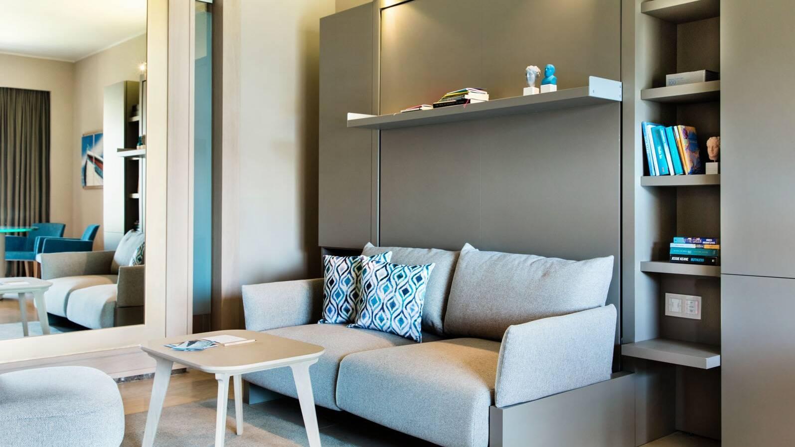 Daios Cove Premium Suite Living Crete