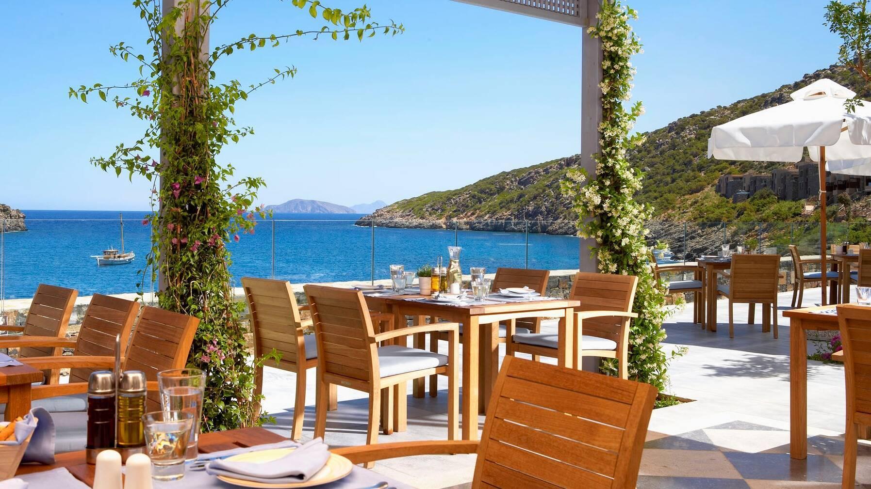 Daios Cove Restaurant Taverna Crete