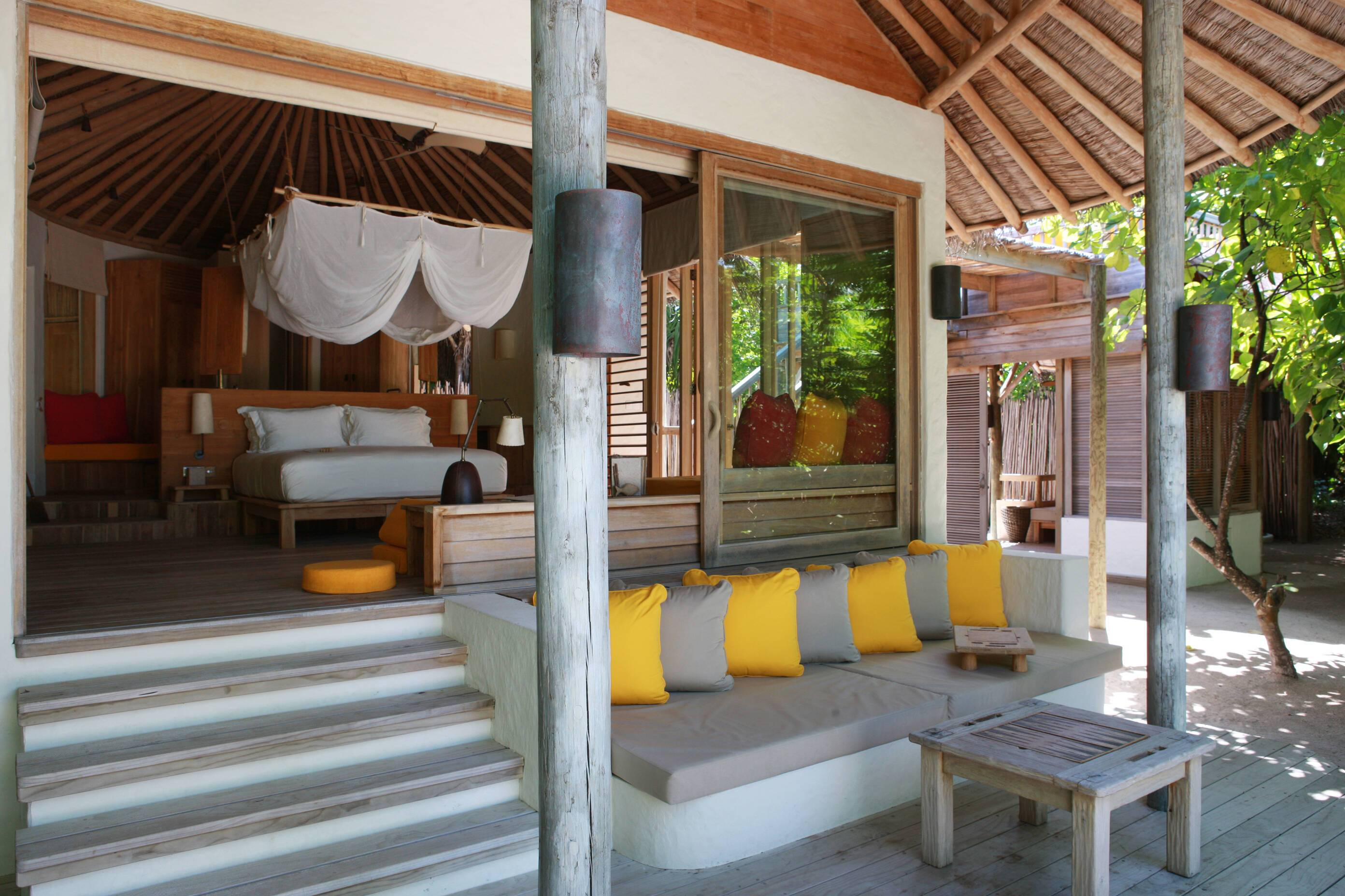 Six Senses Laamu Beach Villa Maldives