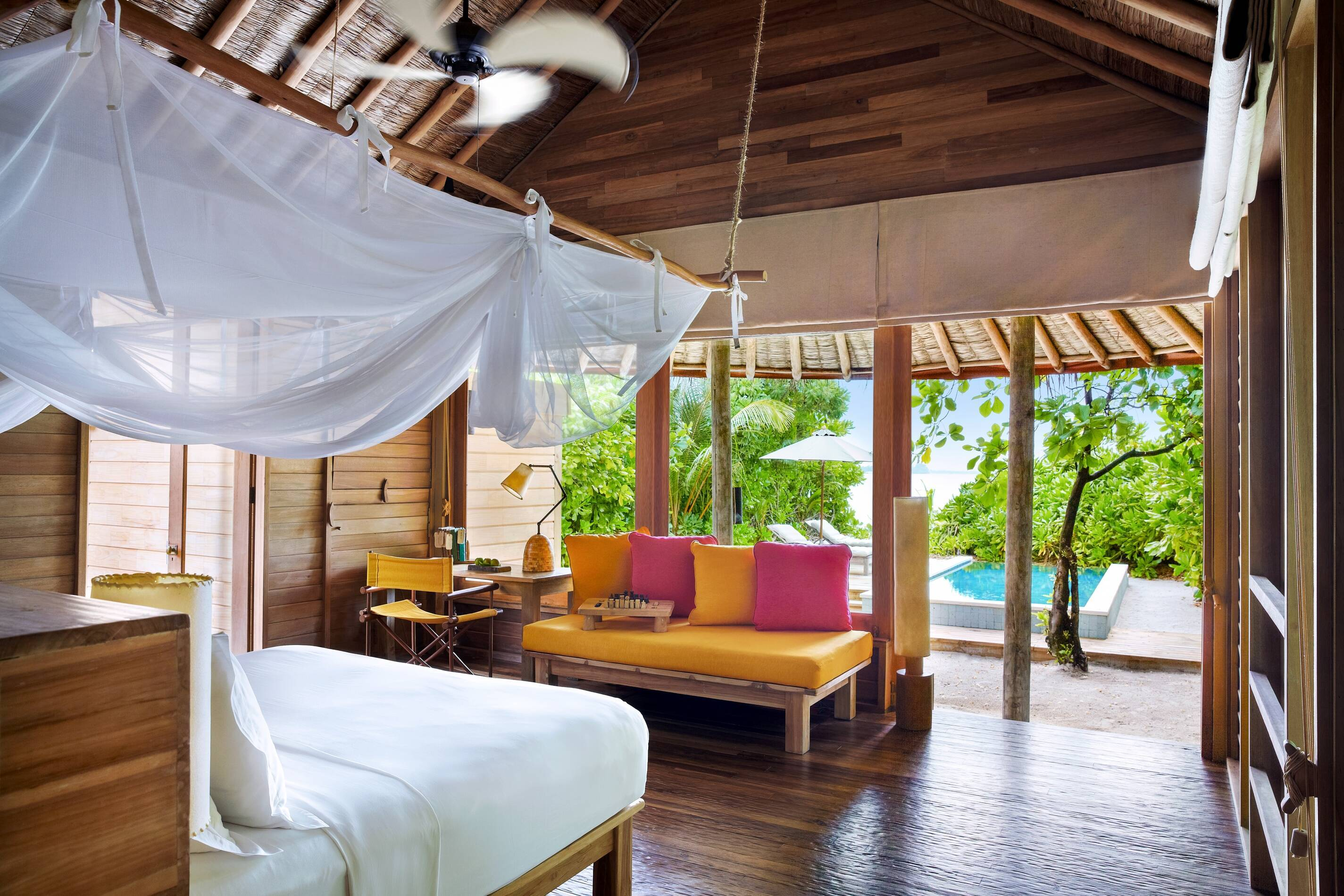 Six Senses Laamu Ocean Beach Villa Maldives