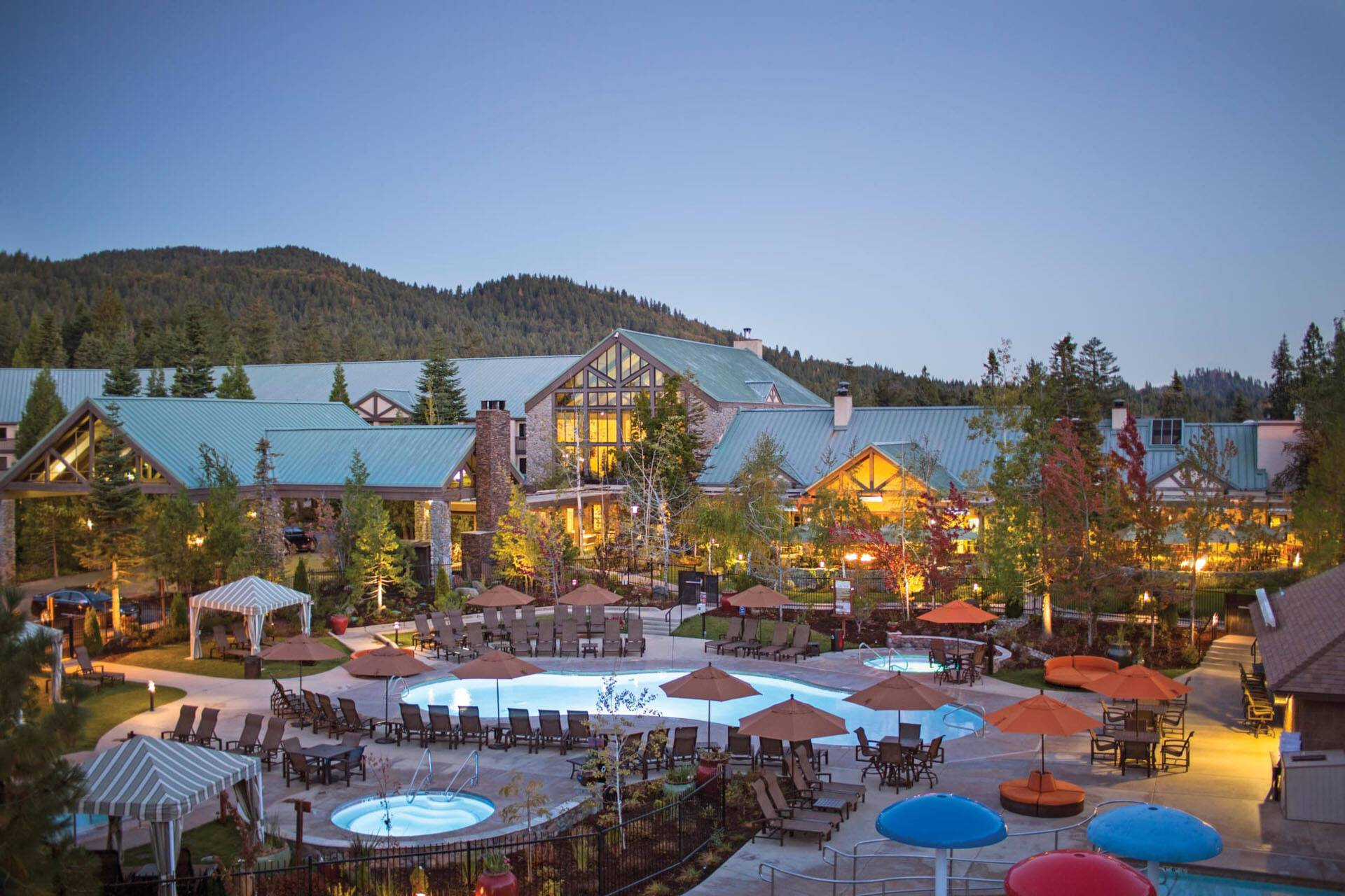 Tenaya Lodge Piscine Yosemite