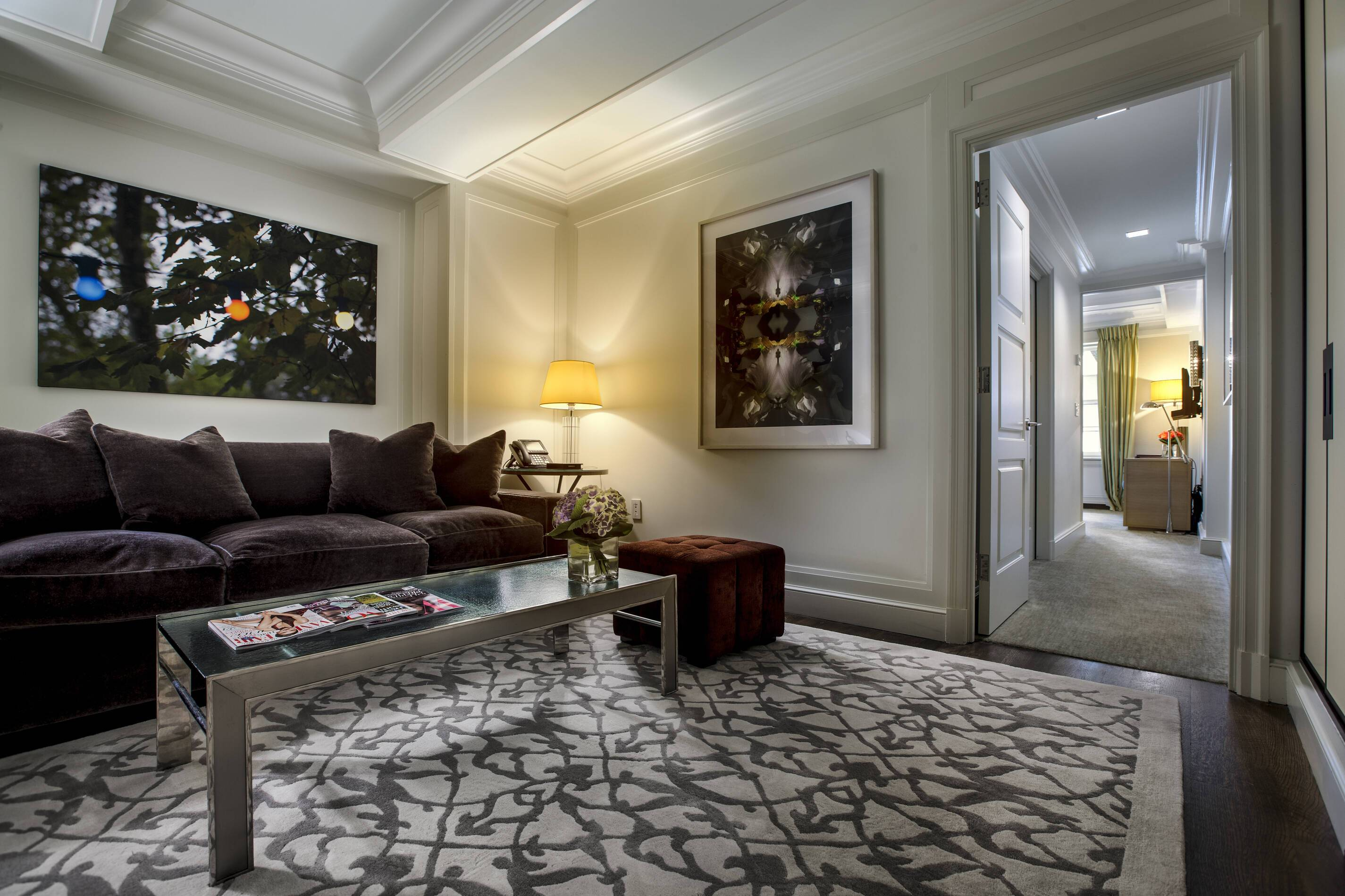 The Mark Courtyard Junior Suite Living New York