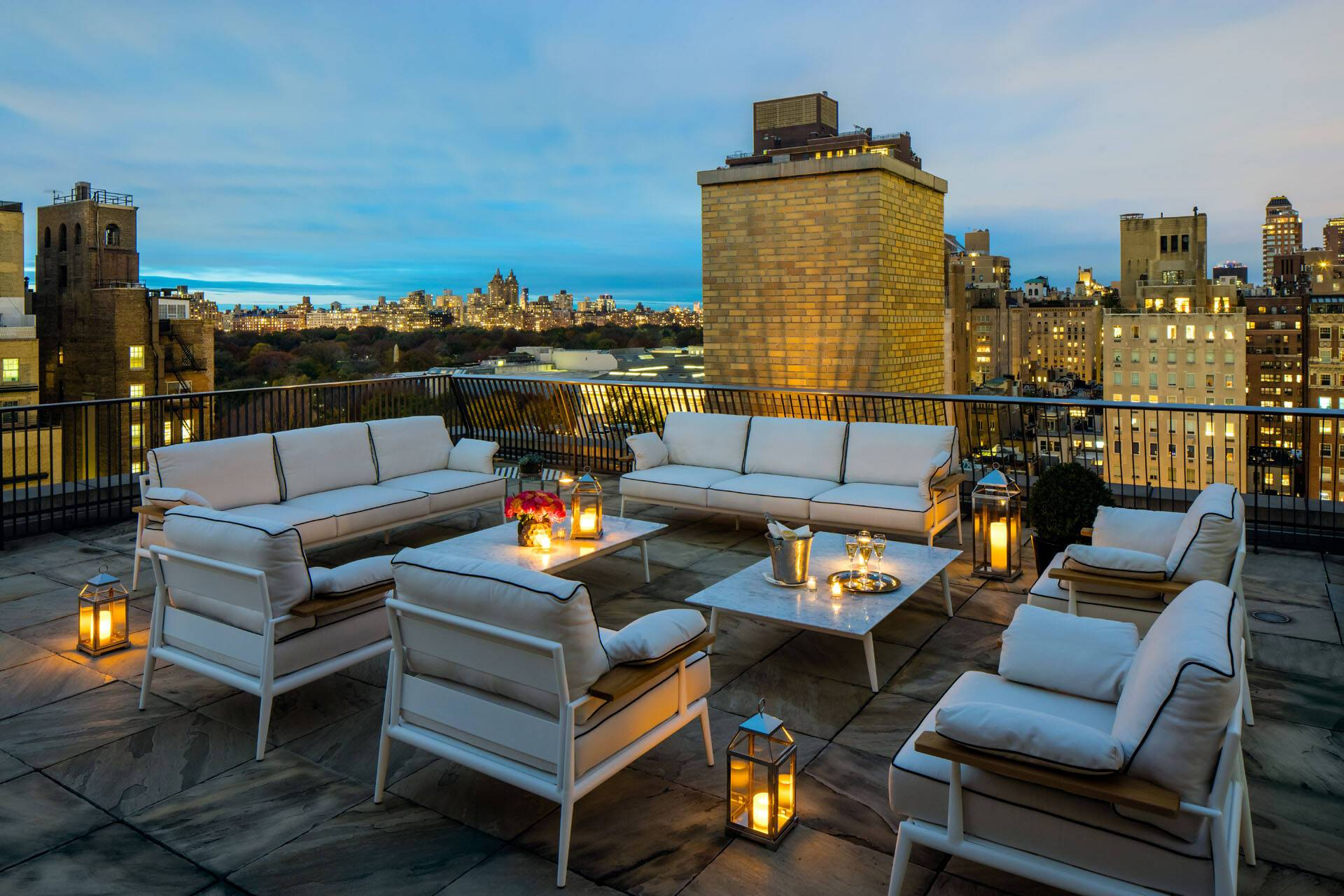 The Mark Hotel Penthouse Terrasse Todd Eberle