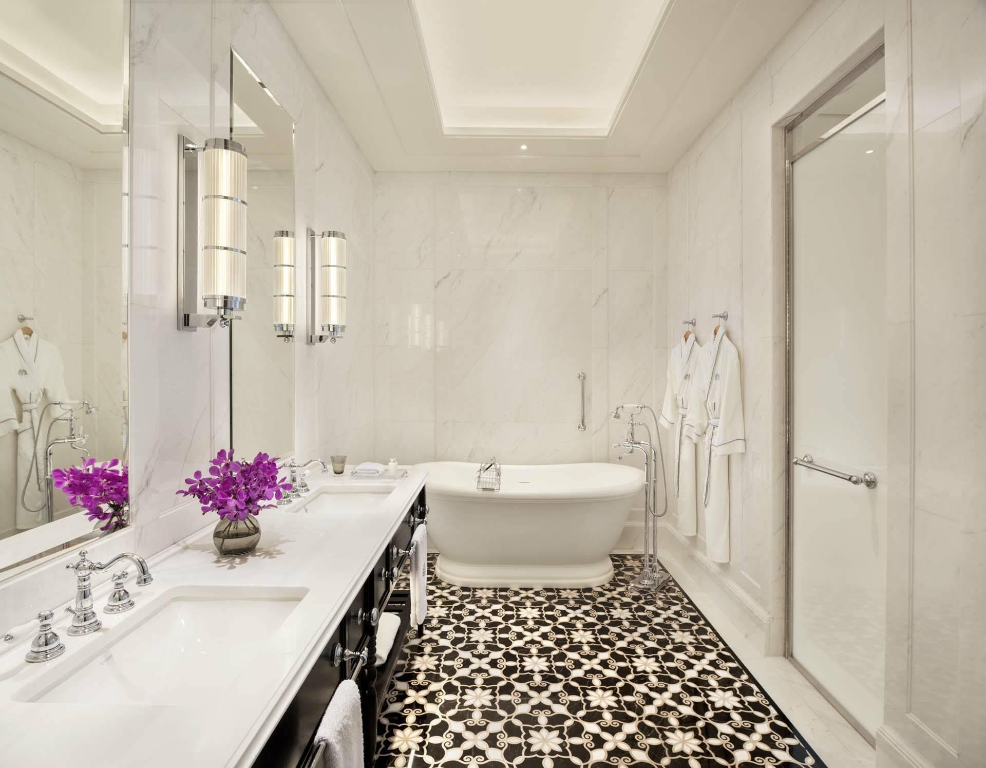 Raffles Singapour ResidenceSuite Bathroom