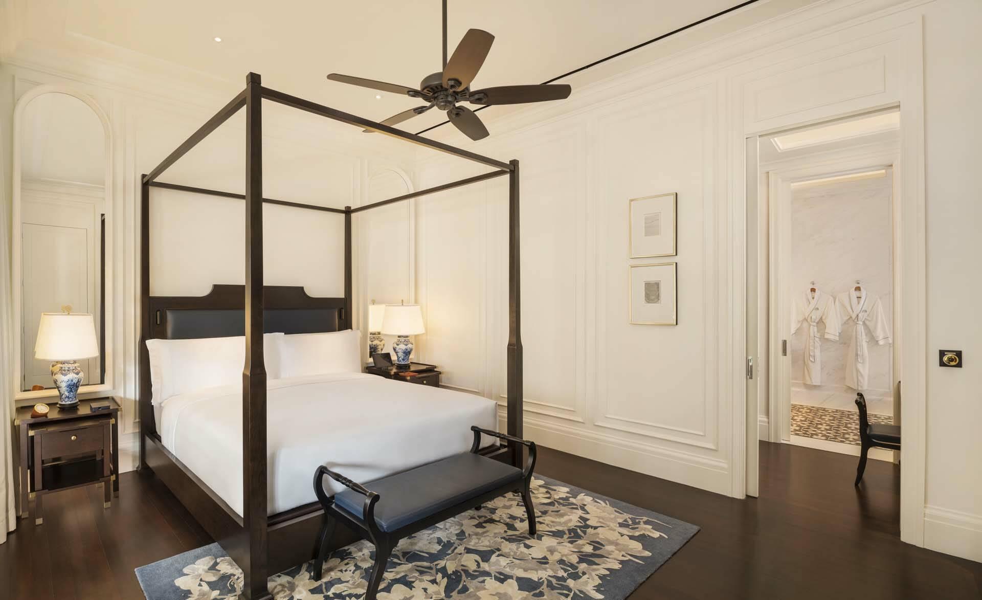 Raffles Singapour ResidenceSuite Bedroom