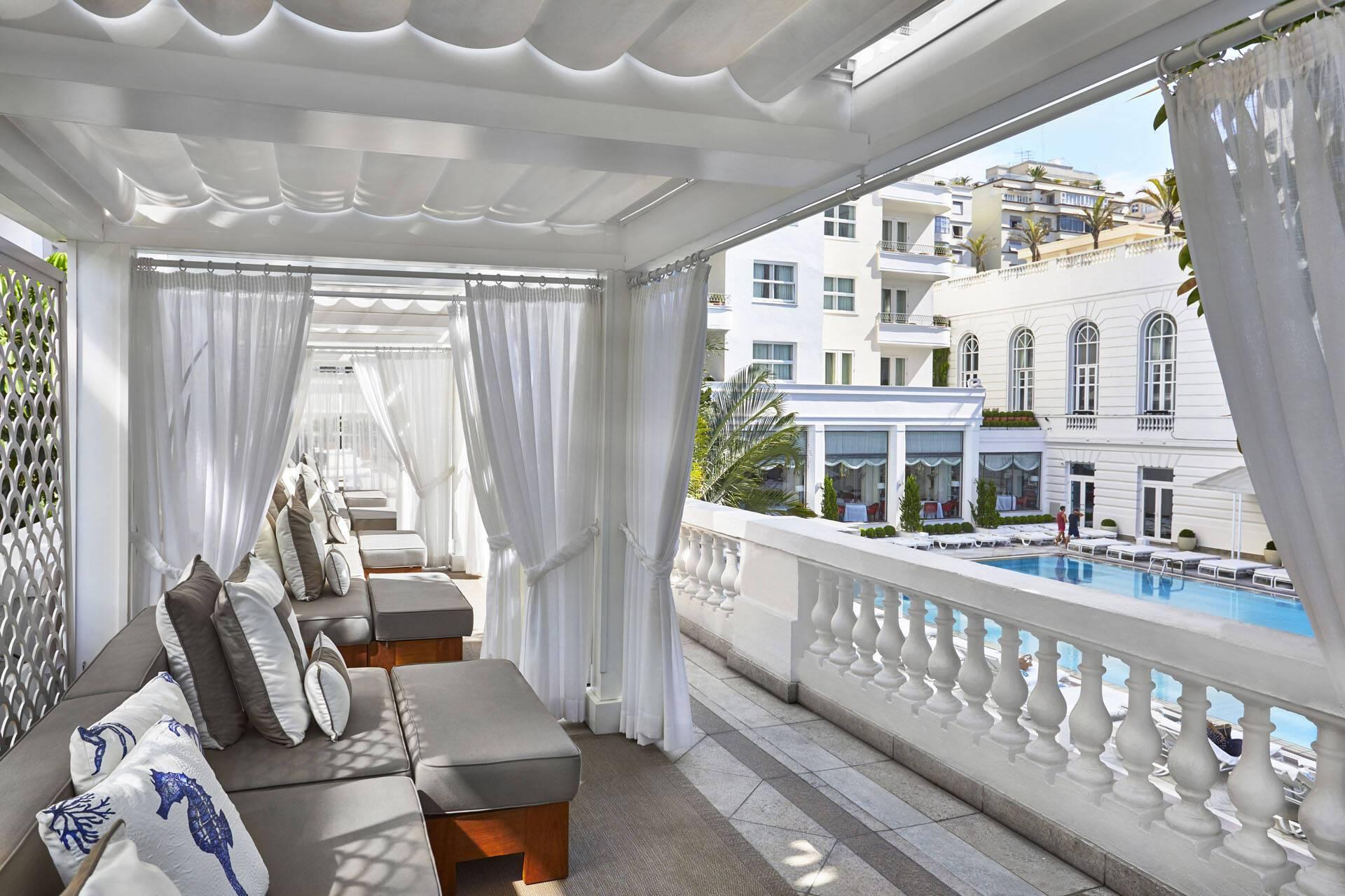 Bresil Belmond Copacabana Palace Piscine