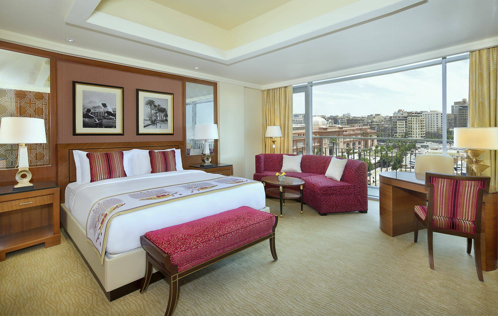 Caire The Nile Ritz Carlton chambre deluxe Circuit Egypte