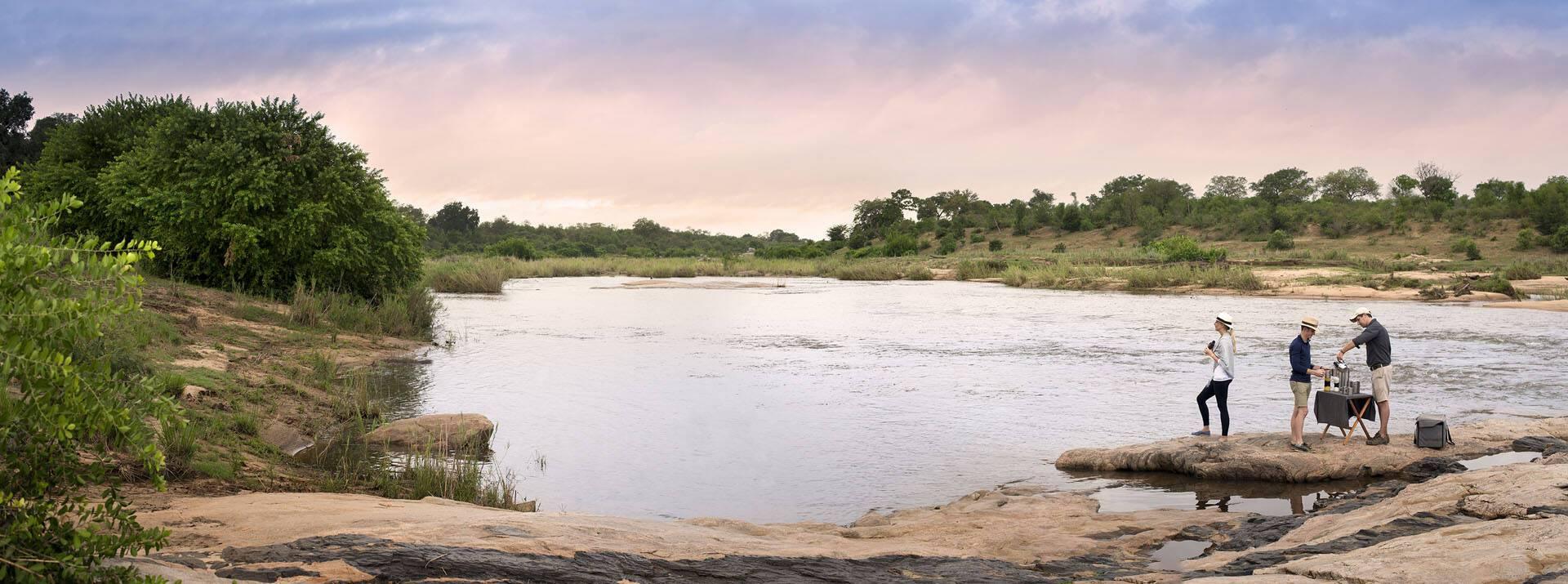 Afrique Sud Lion Sands Safari Stop