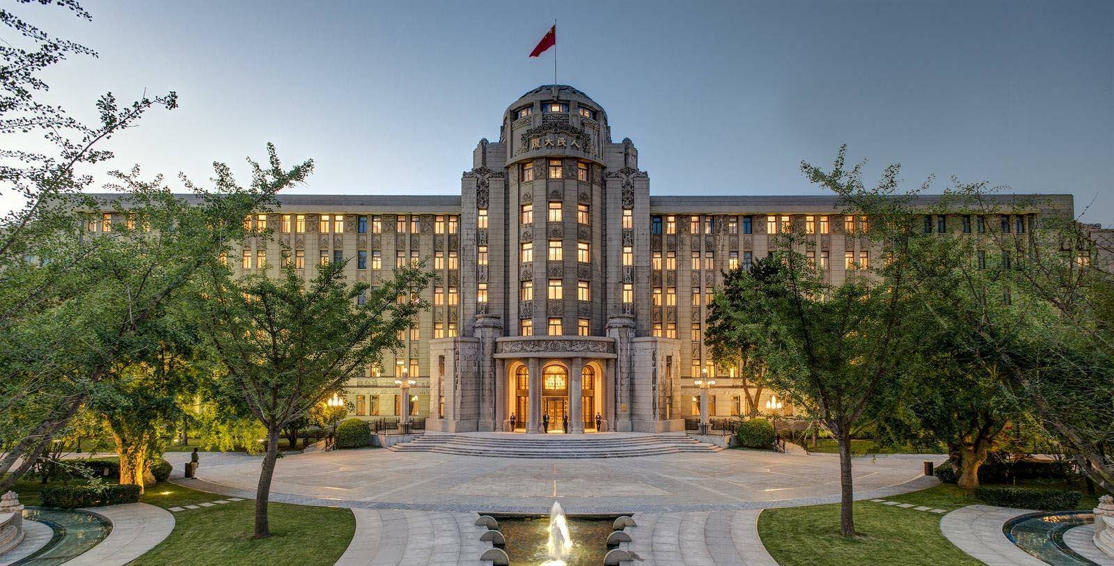 Xian Sofitel Legend People Hotel Facade