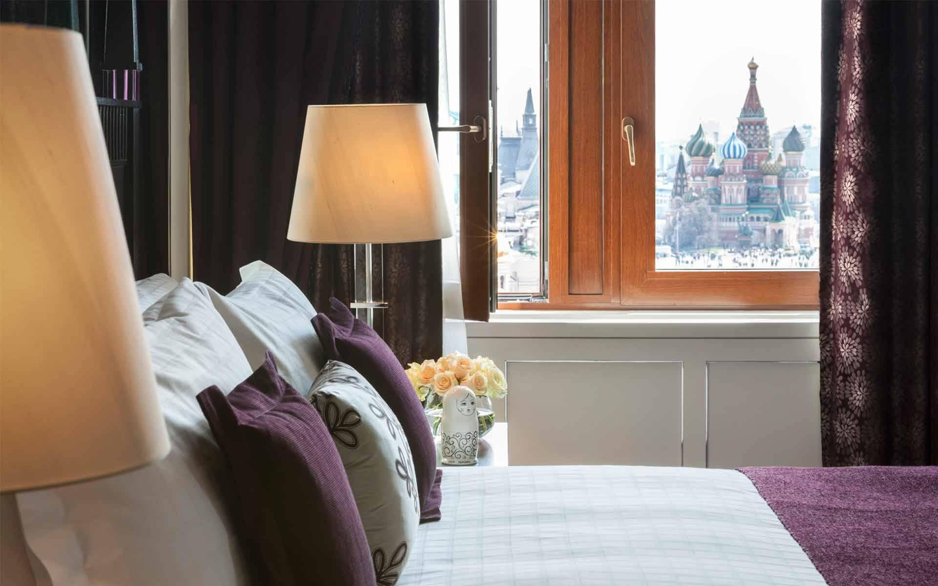 Four Seasons Moscou Chambre