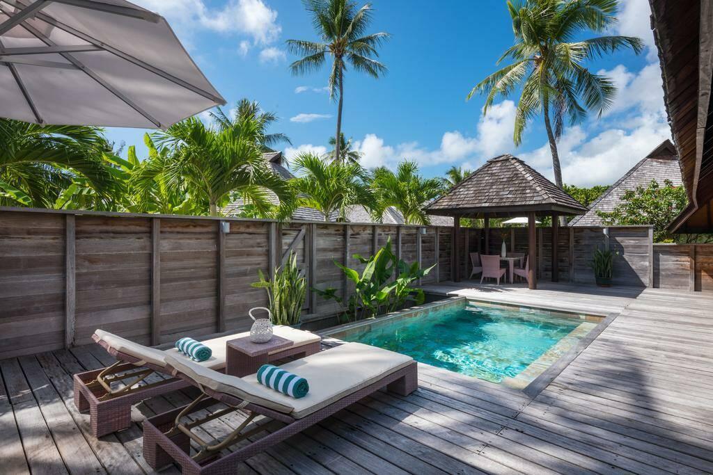 Hilton Moorea Polynesie Bungalow Piscine