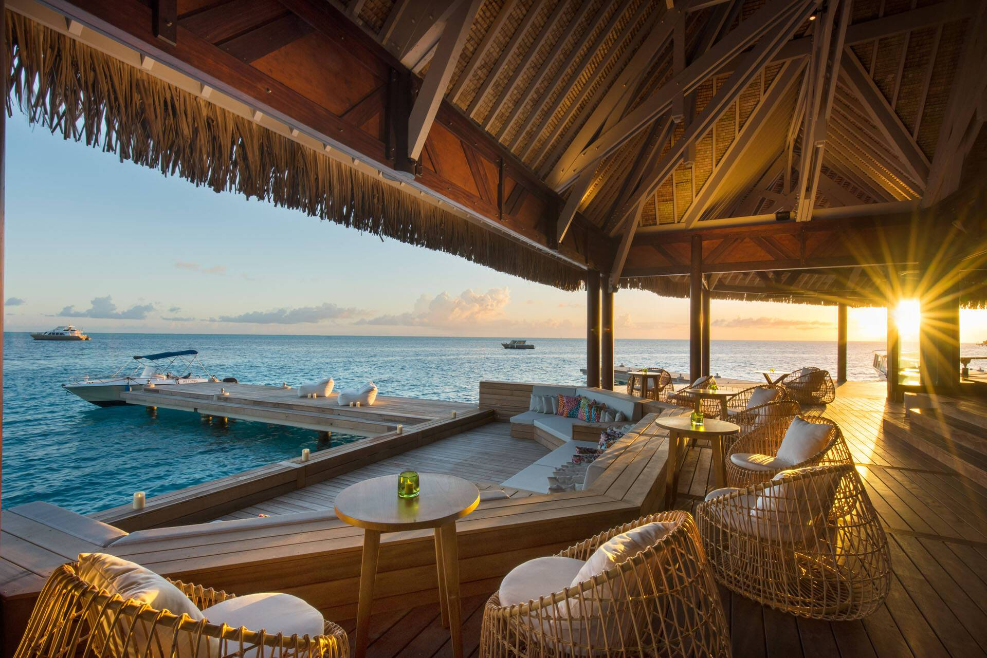 Polynesie Conrad Bora Bora Nui Lounge Bar