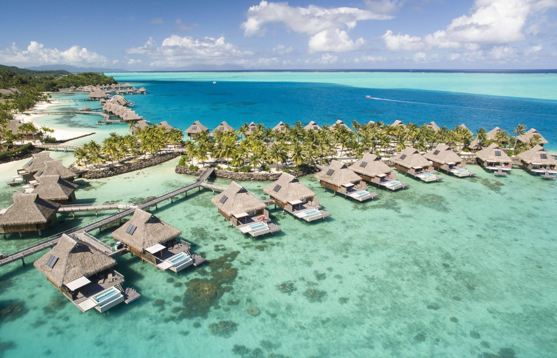 Polynesie Conrad Bora Bora Nui Vue
