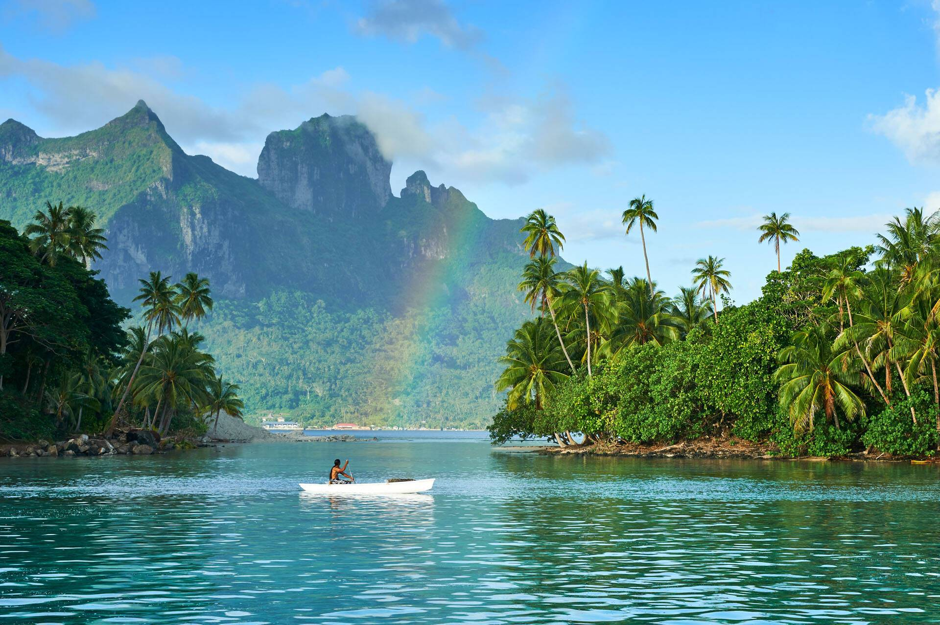Polynesie Conrad Bora Bora Nui Vue Montagne
