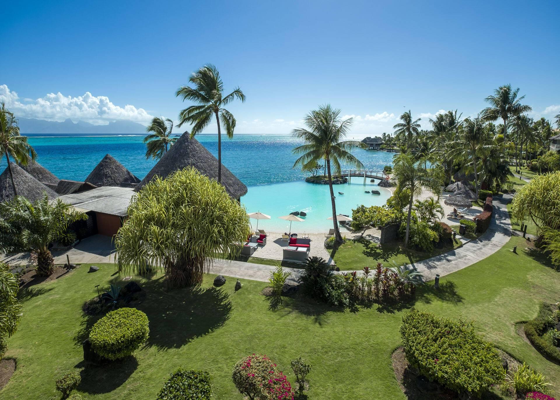 Polynesie InterContinental Tahiti Jardins