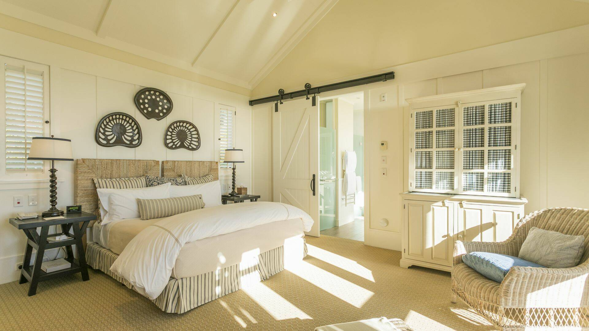 Cape Kidnappers The Farm Hilltrop Suite Chambre Hawkes Bay Nouvelle Zelande Miz Watanabe