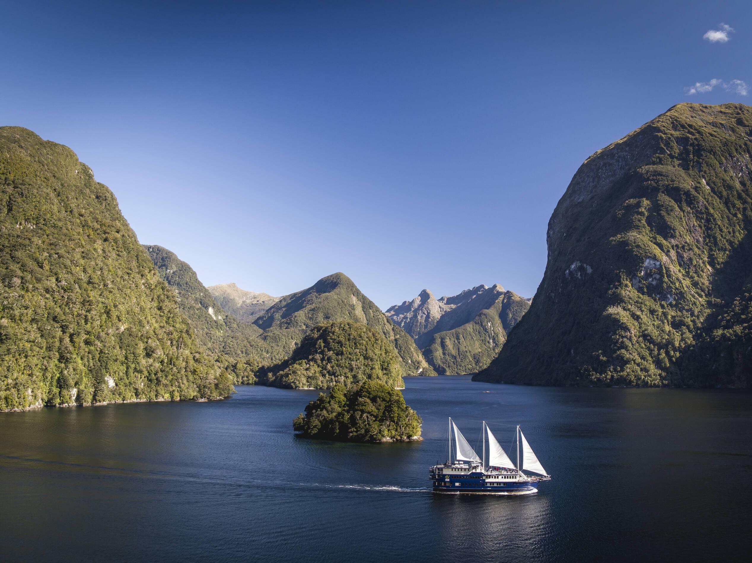 Fiordland Bateau Nouvelle Zelande
