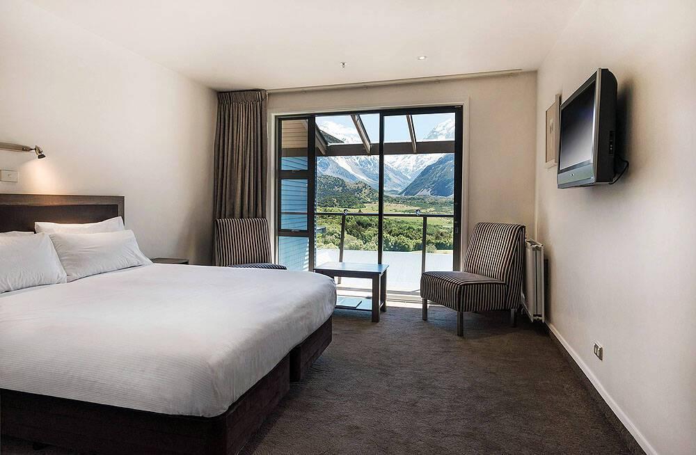Hermitage Hotel Room Mount Cook Nouvelle Zelande