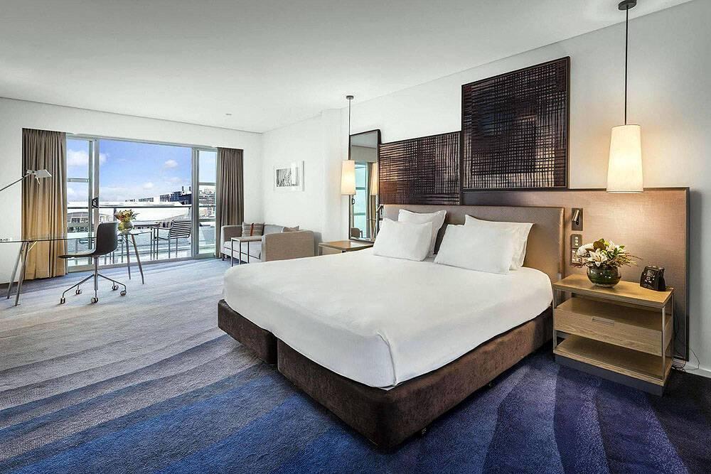 Hilton Hotel Auckland Chambre Nouvelle Zelande.JPEG