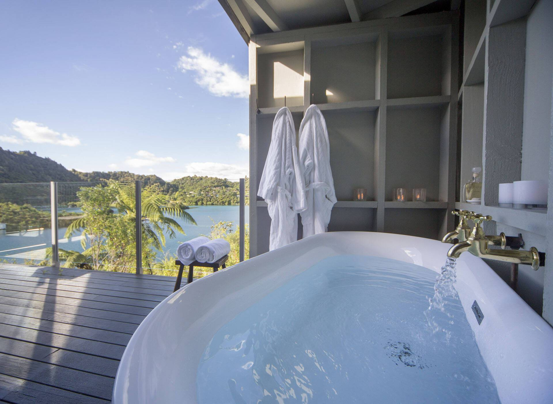 Solitaire Lodge New Zealand Salle Bains