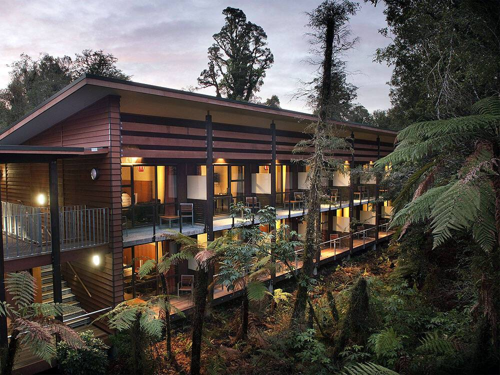 Te Waonui Forest Retreat Franz Joseph Nouvelle Zelande