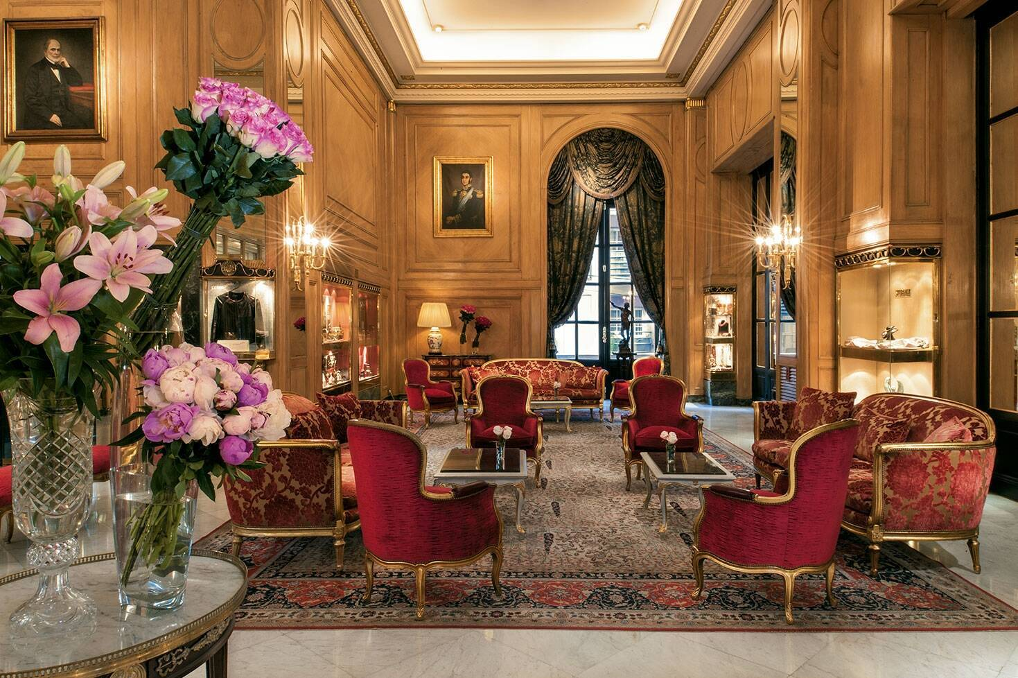 Buenos Aires Alvear Palace Lobby Argentine