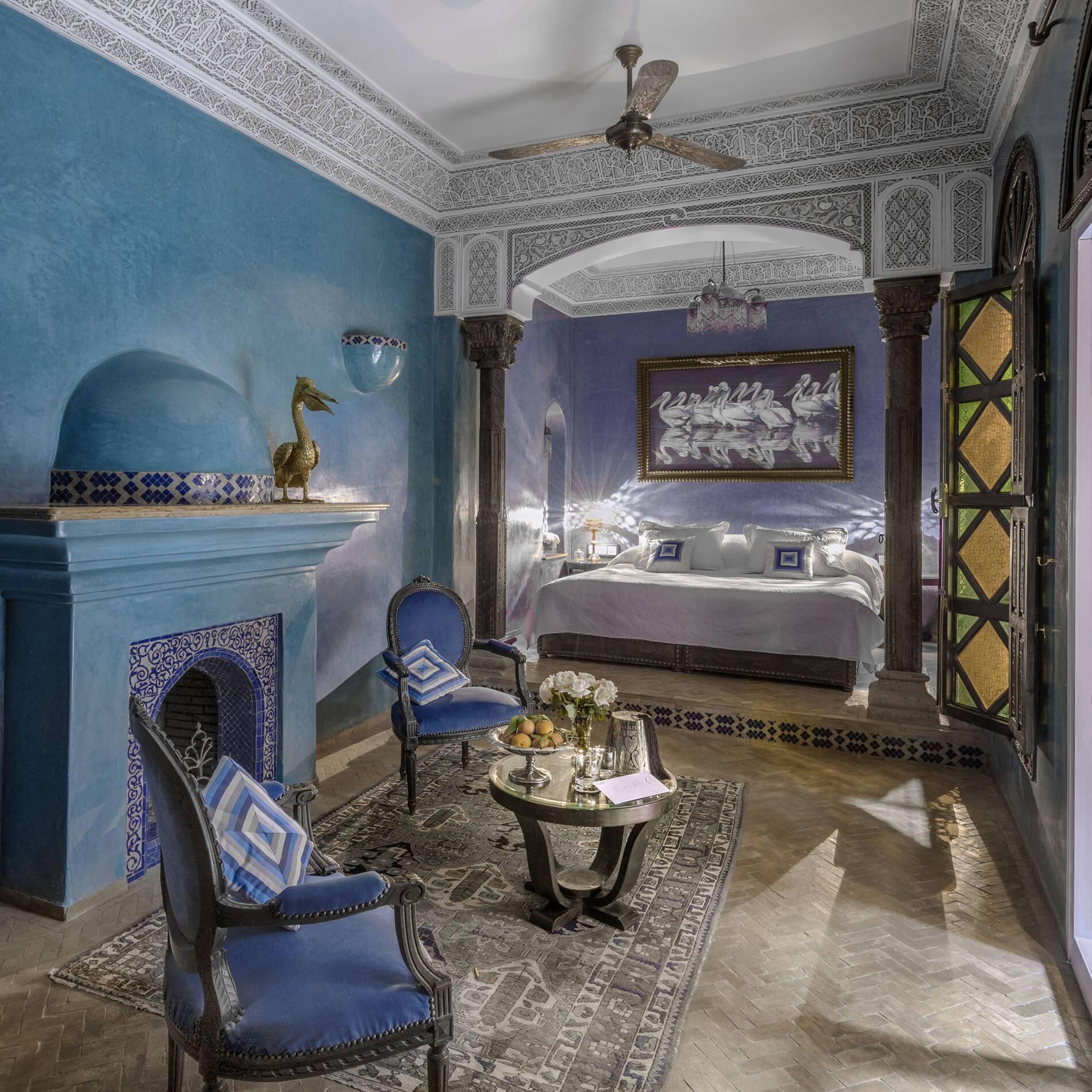Sultana Marrakech Riad Room