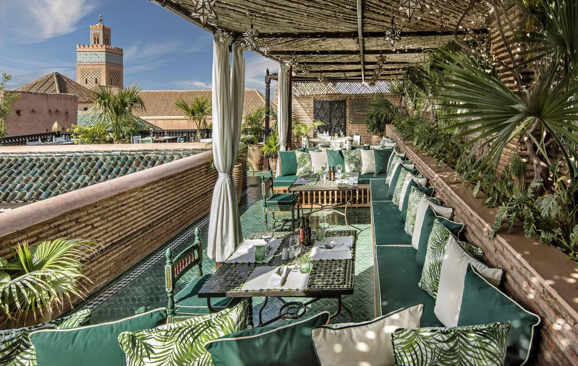 Sultana Marrakech Table du Souk