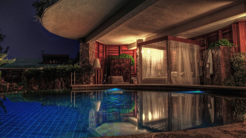 Jade Mountain Sainte Lucie chambre piscine