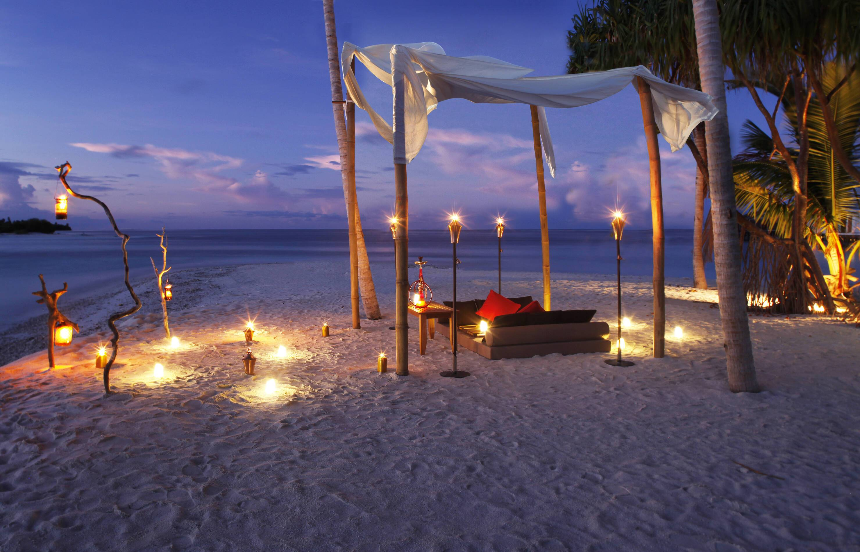 The Residence Diner Plage Maldives