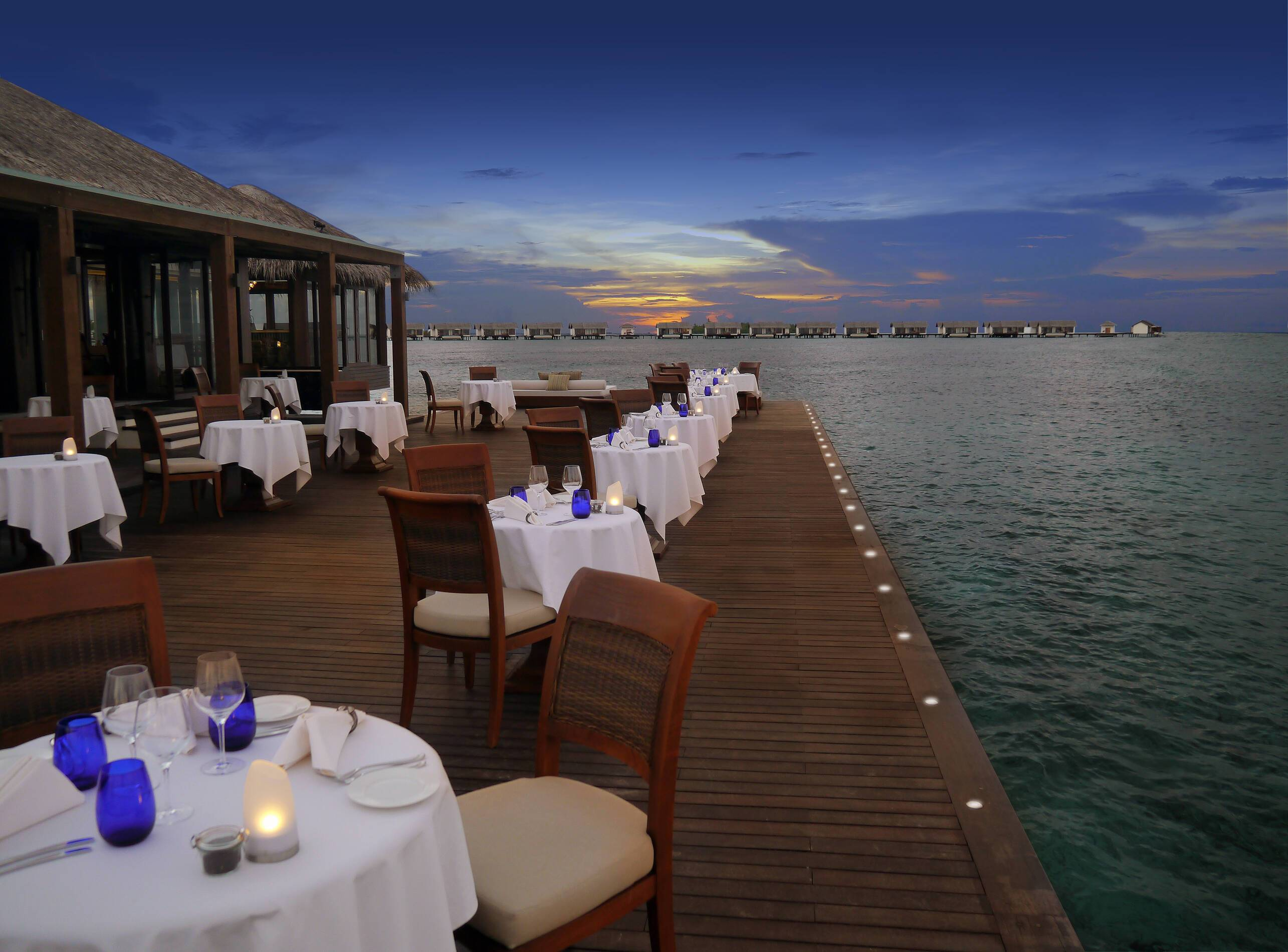 The Residence Restaurant Maldives