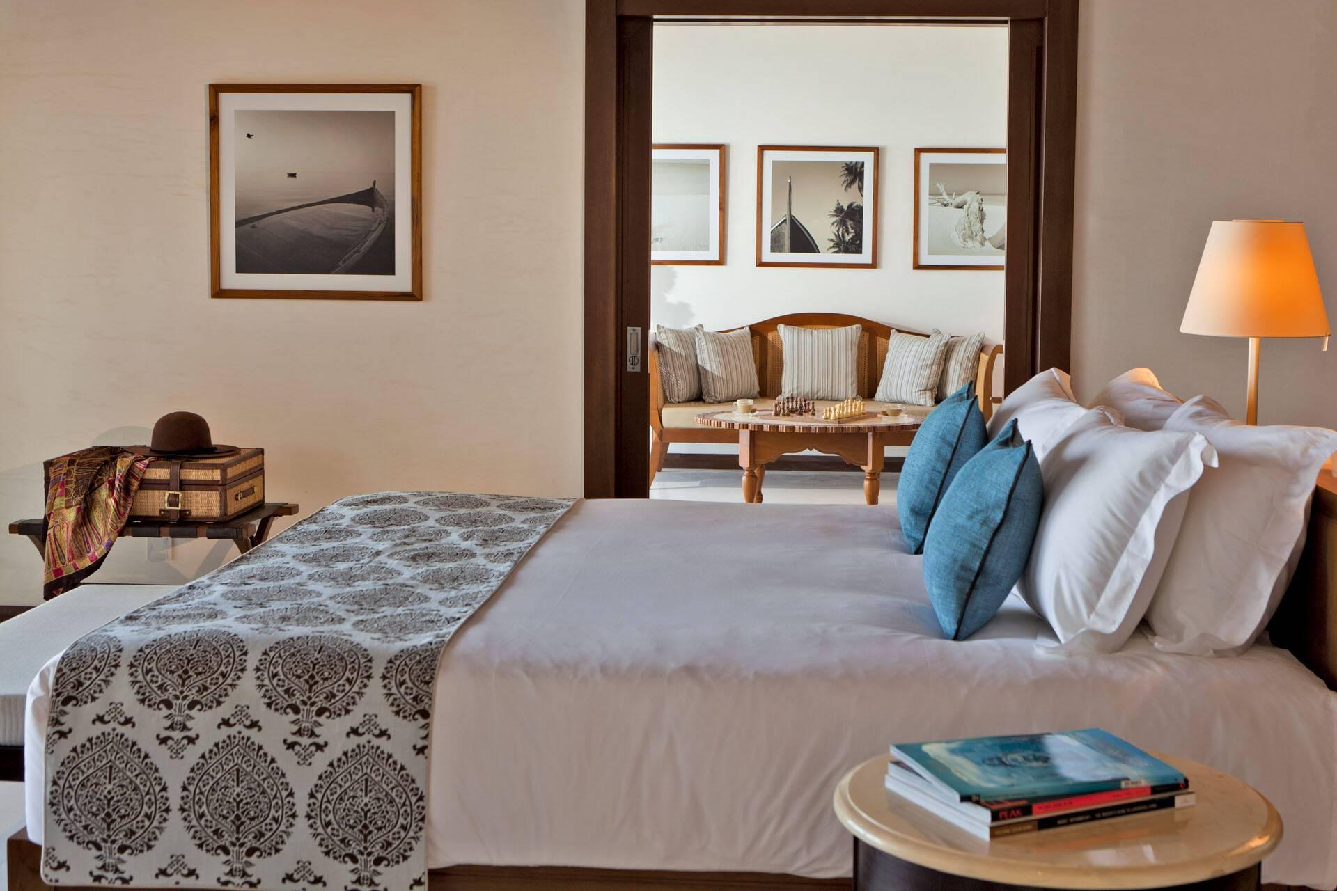 The Residence Villa Beach Chambre MaldivesJPG