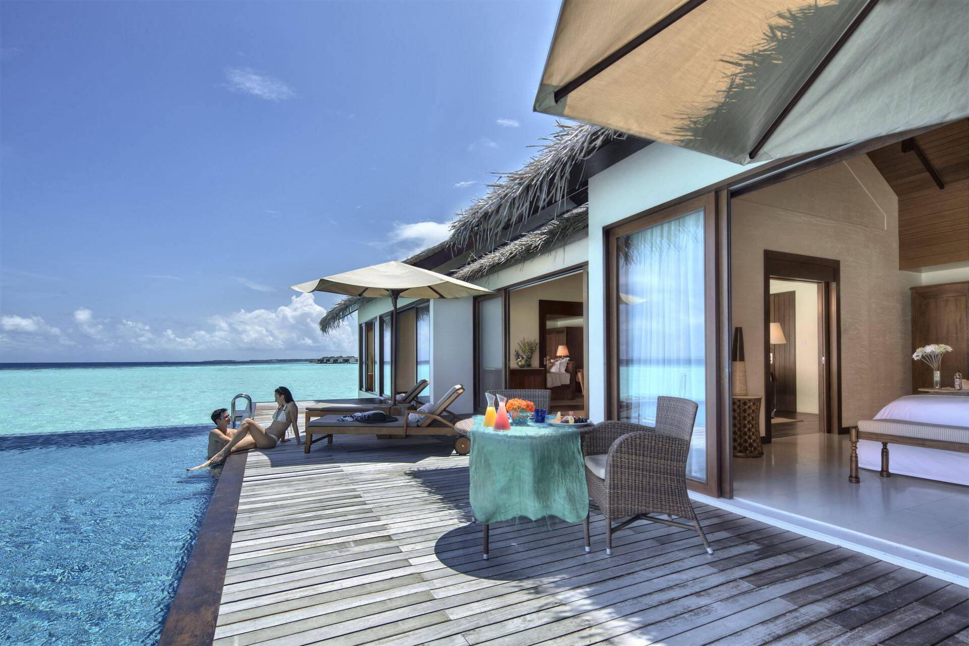 The Residence Villa Water Pool Terrasse MaldivesJPG