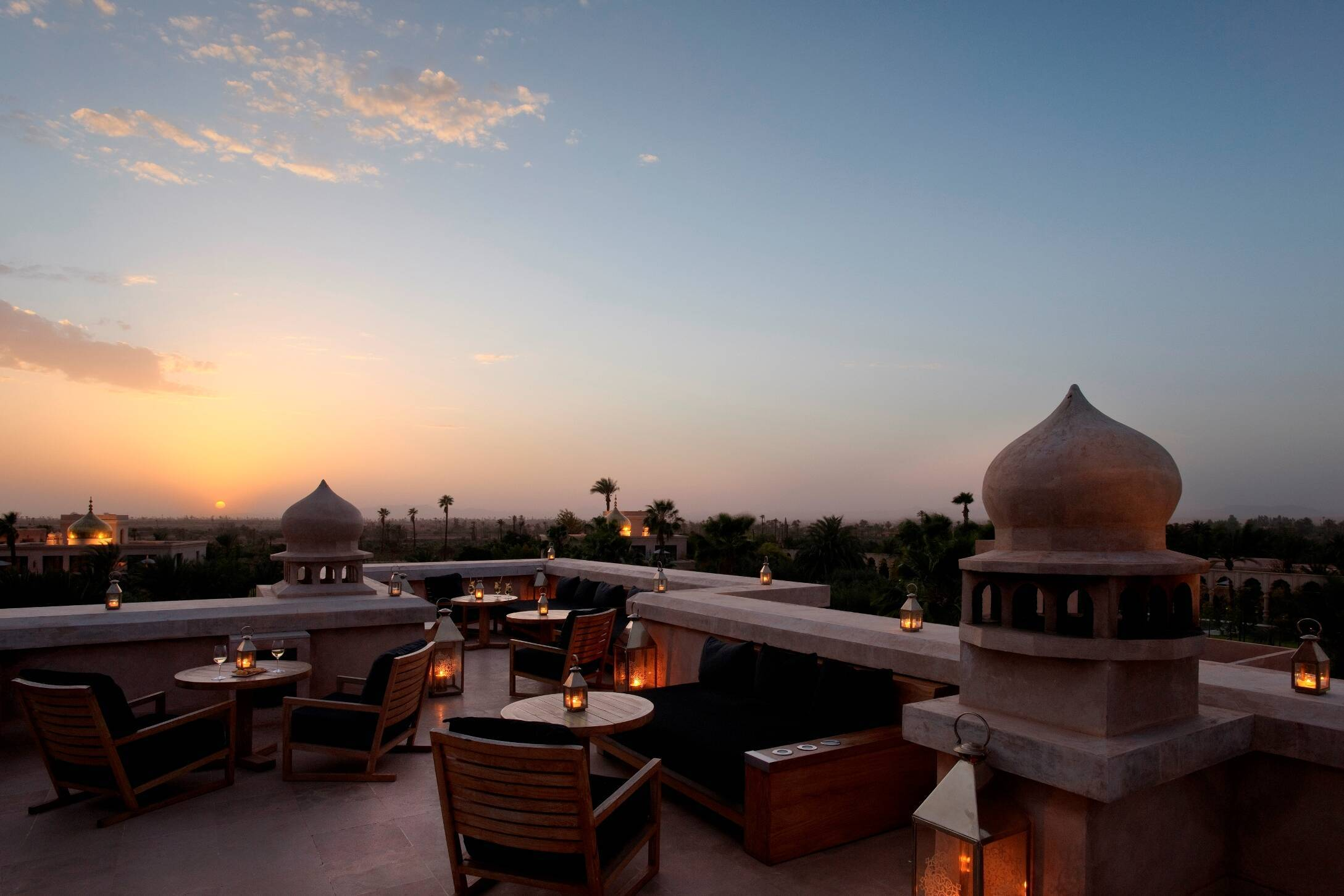 Palais Namaskar Marrakech restaurant nomad terrasse