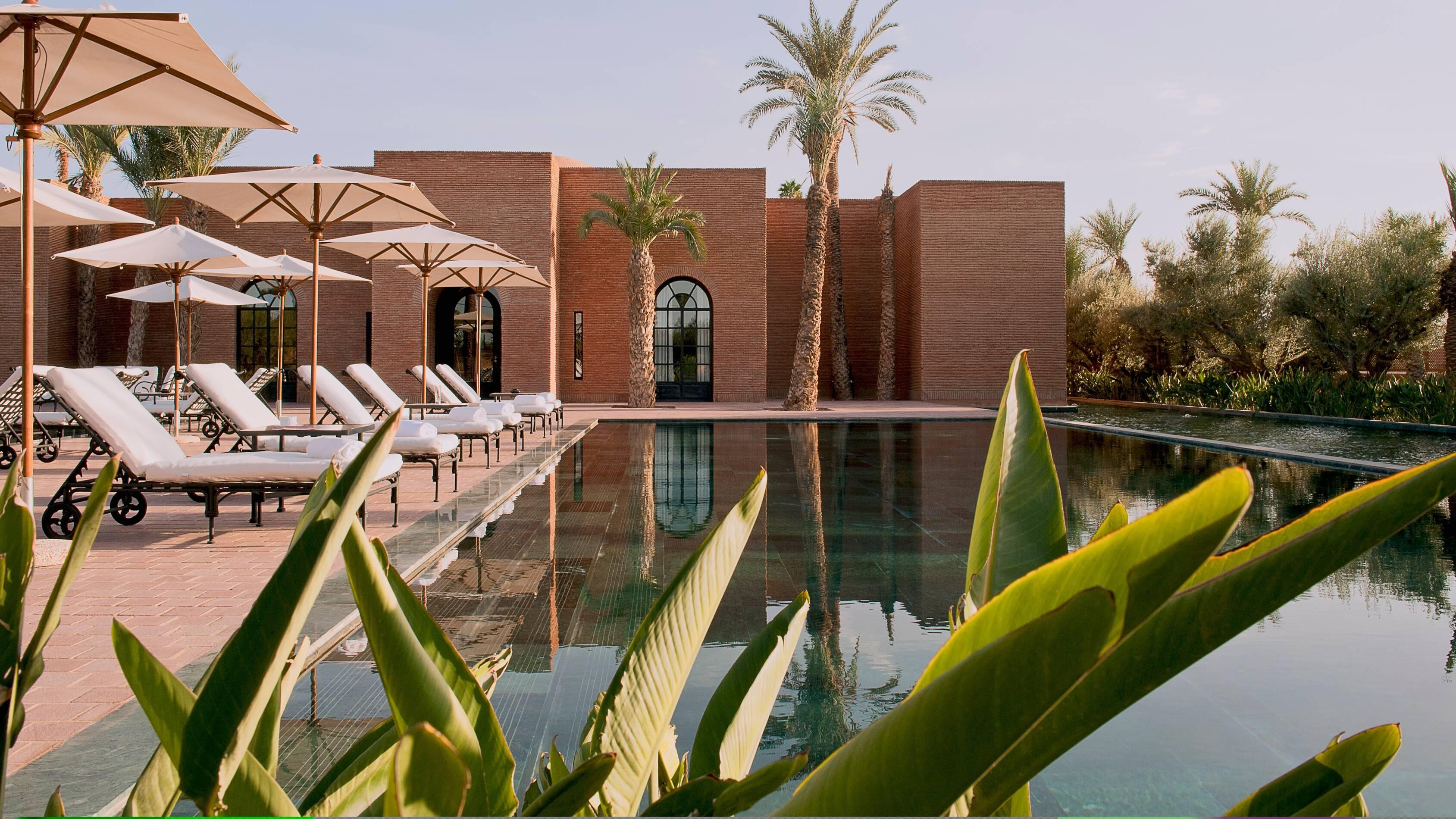 Selman Piscine Spa Marrakech Maroc Alexandre Chaplier