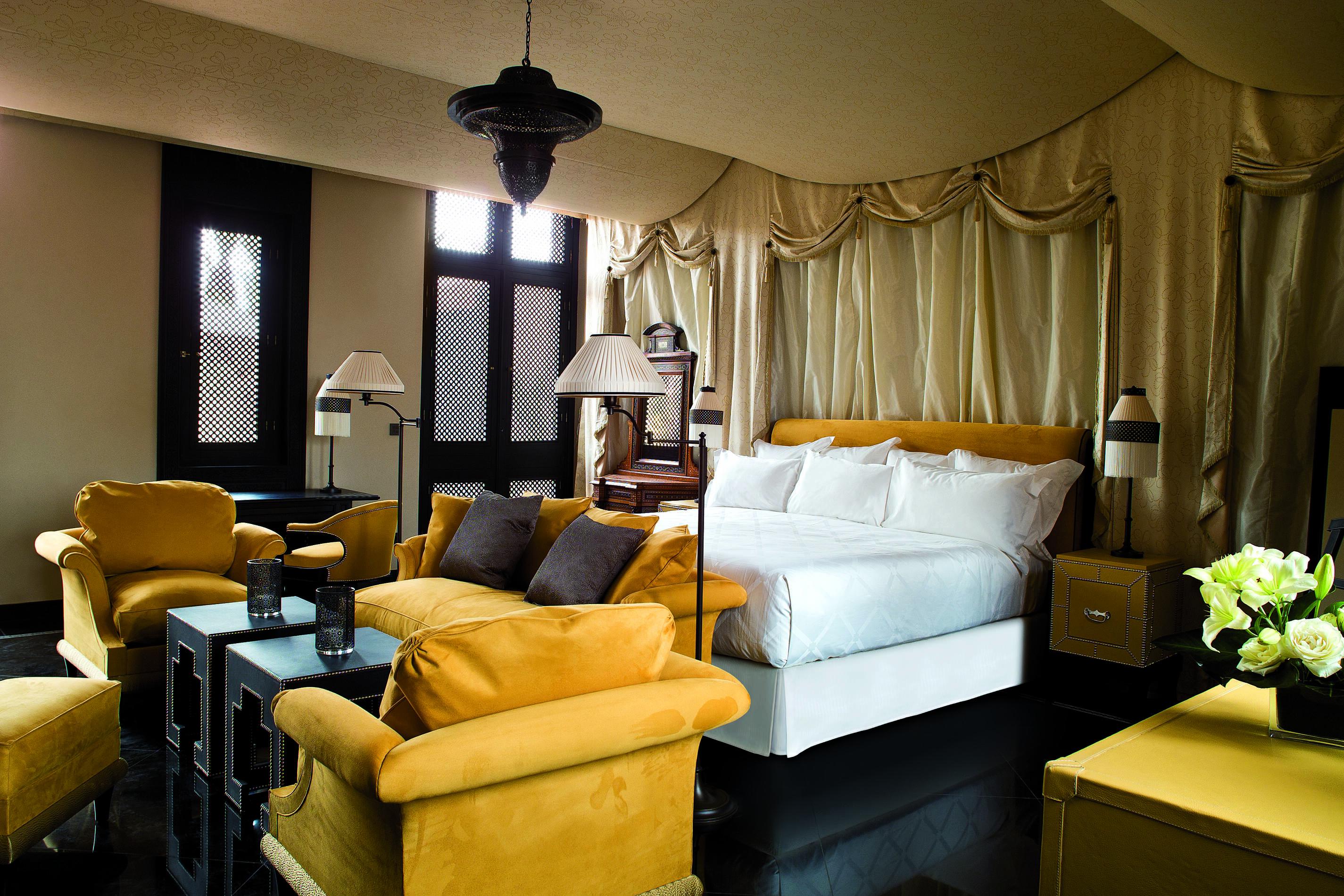 Selman Villa Chambre Marrakech Maroc