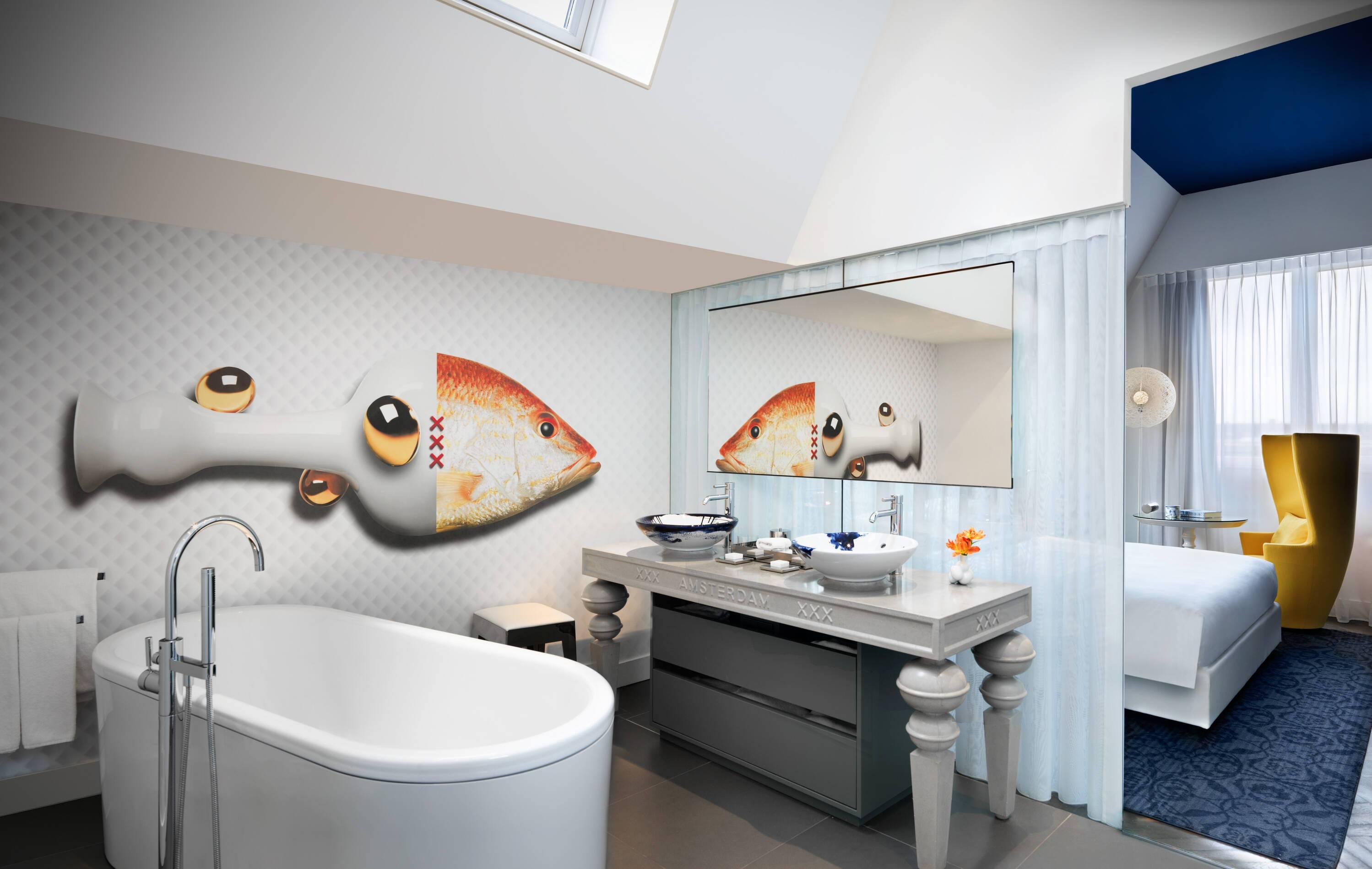 Andaz Andaz Suite Salle de Bain Amsterdam Pays Bas