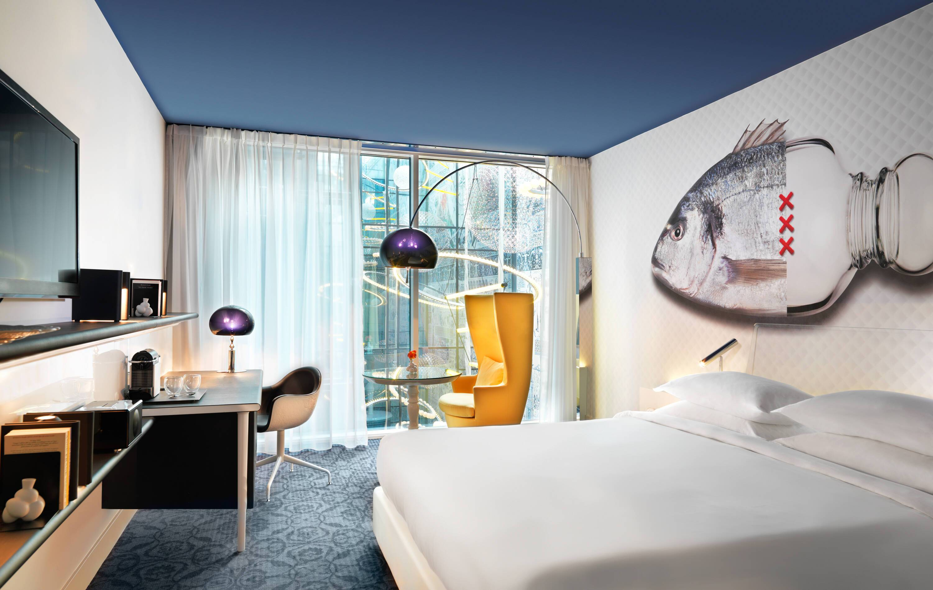 Andaz Observatory Room Chambre Amsterdam Pays Bas
