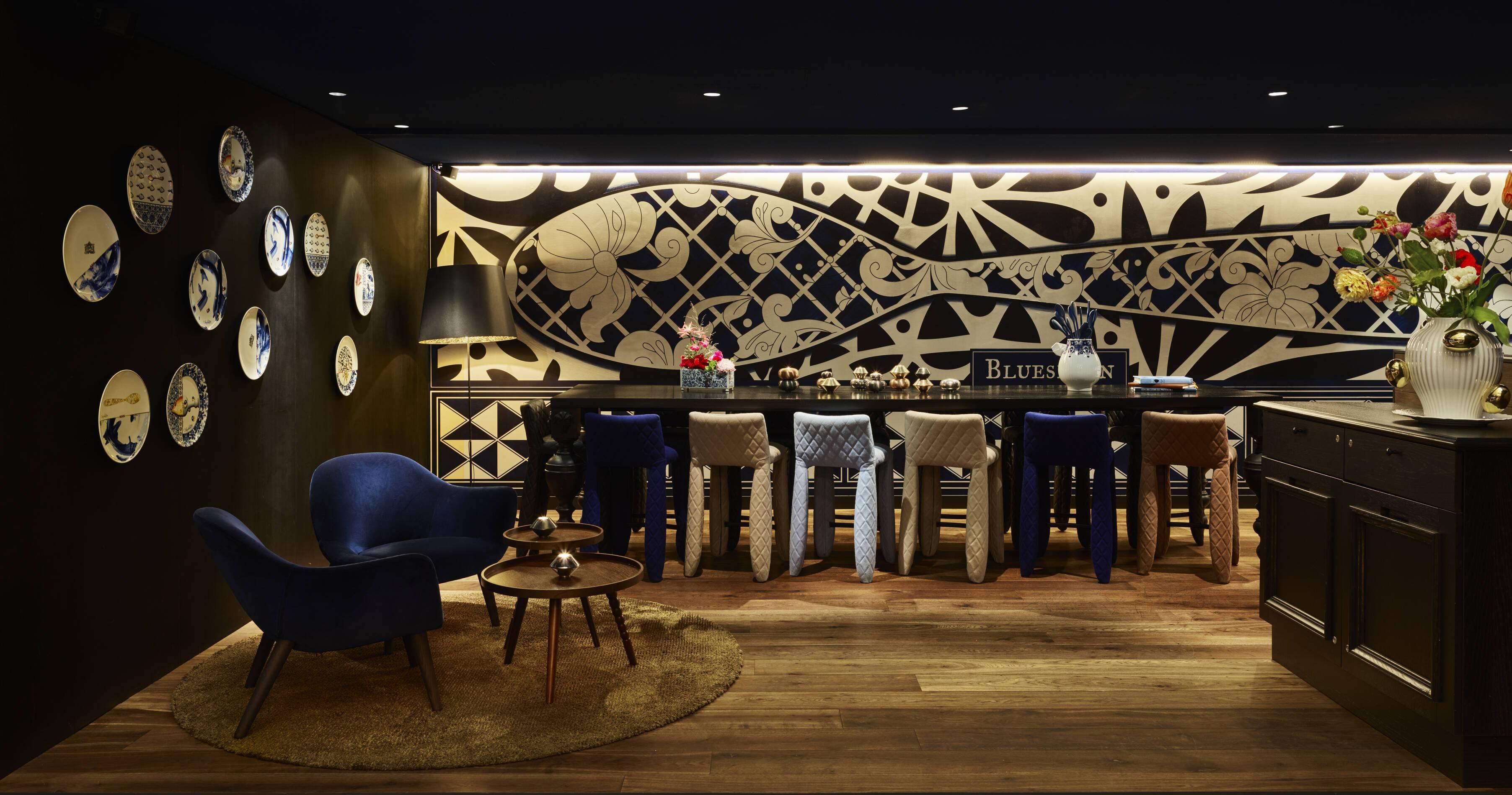 Andaz Restaurant Bluespoon Amsterdam Pays Bas